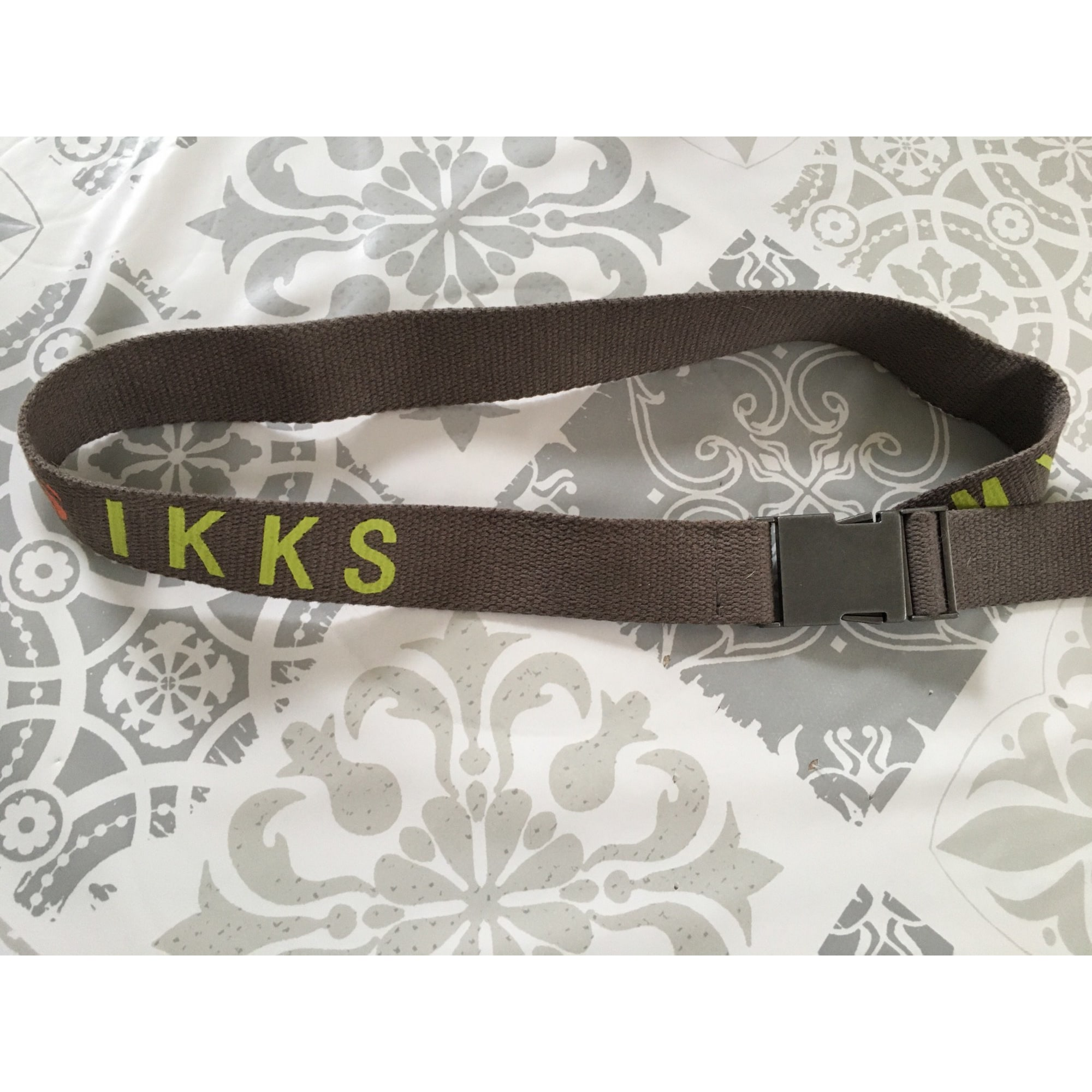 Belt IKKS Khaki