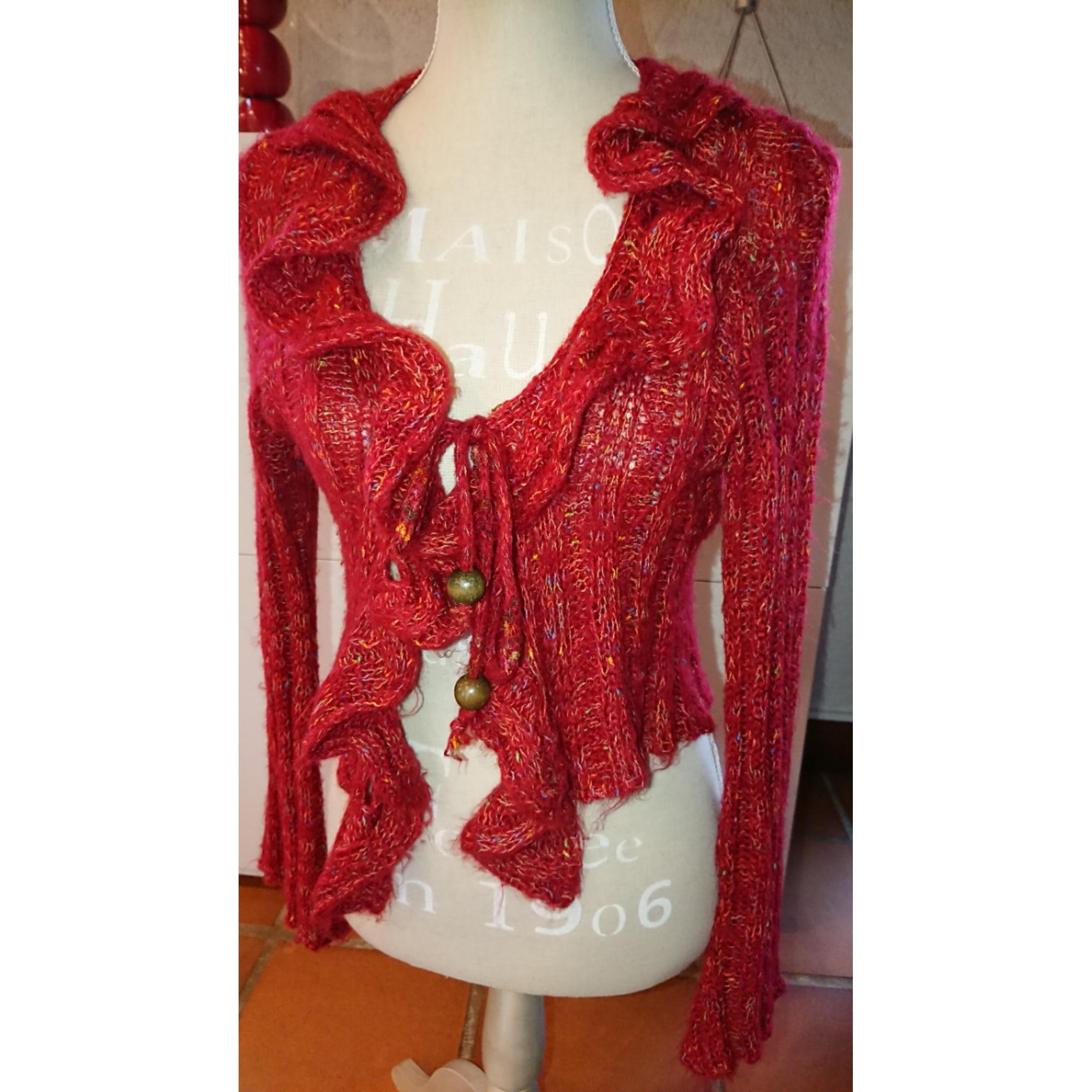 Gilet, cardigan FORMUL Rouge, bordeaux