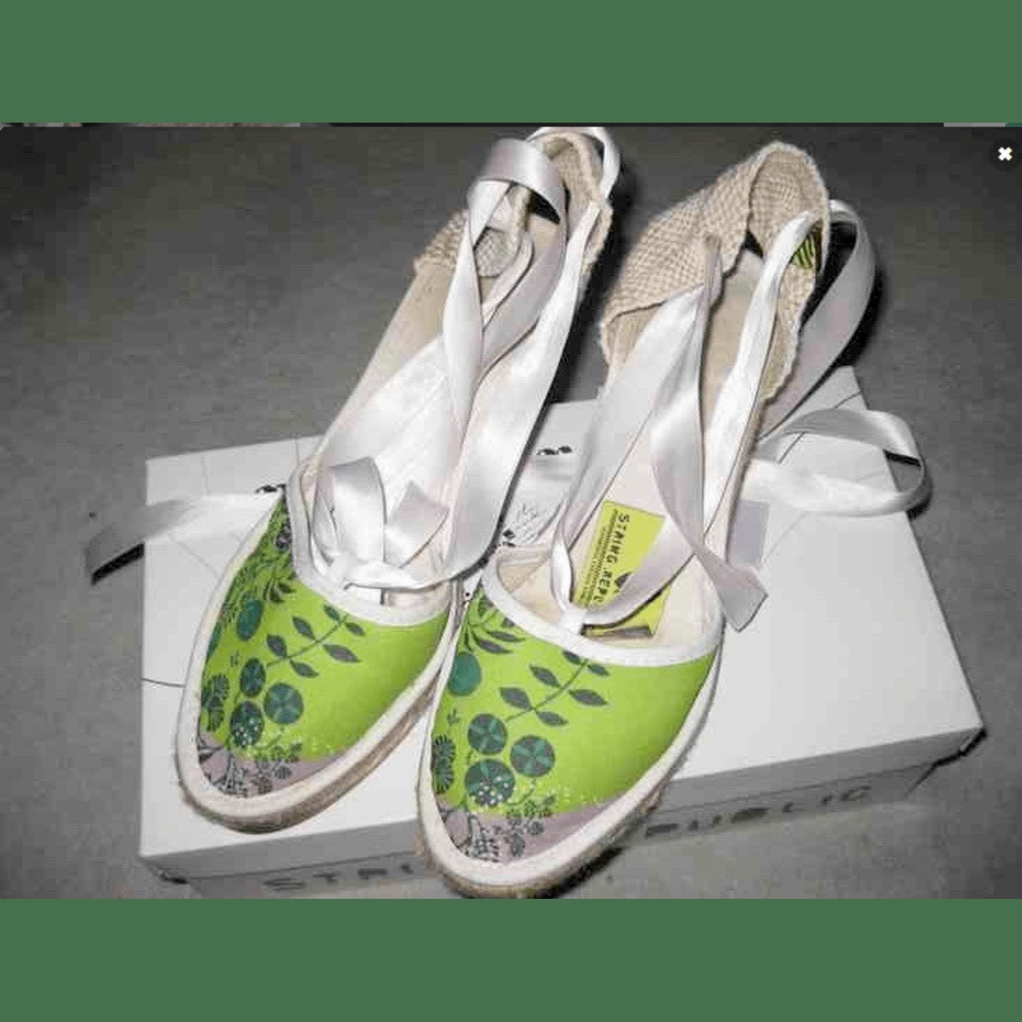 Espadrilles STRING RÉPUBLIC Vert