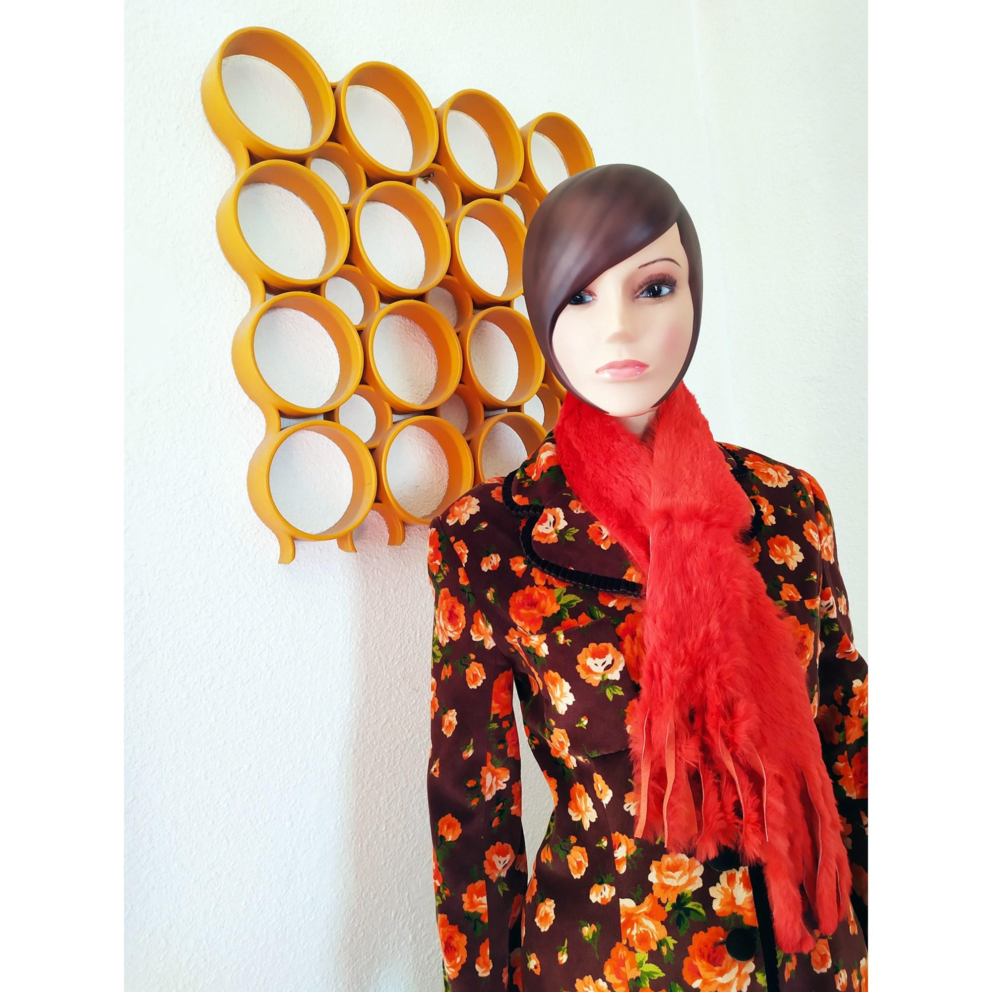 Echarpe VINTAGE Orange