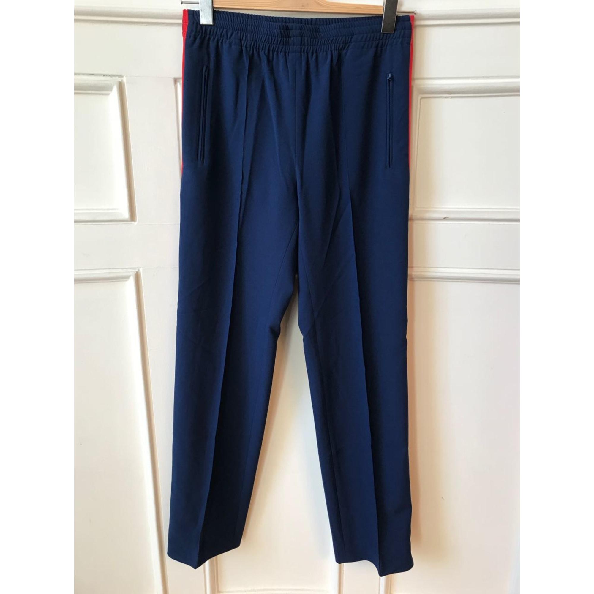 Pantalon droit LOUBAROK Bleu, bleu marine, bleu turquoise