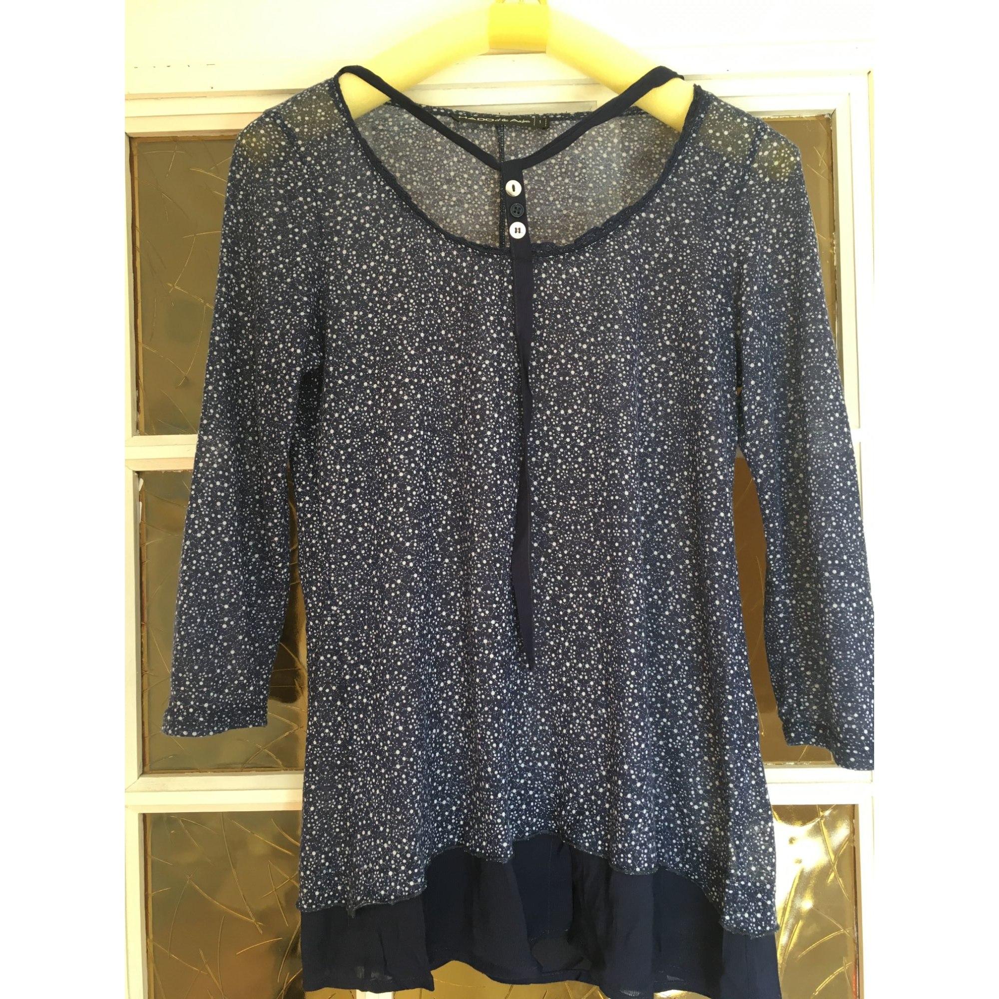 Top, tee-shirt MADO ET LES AUTRES Bleu, bleu marine, bleu turquoise
