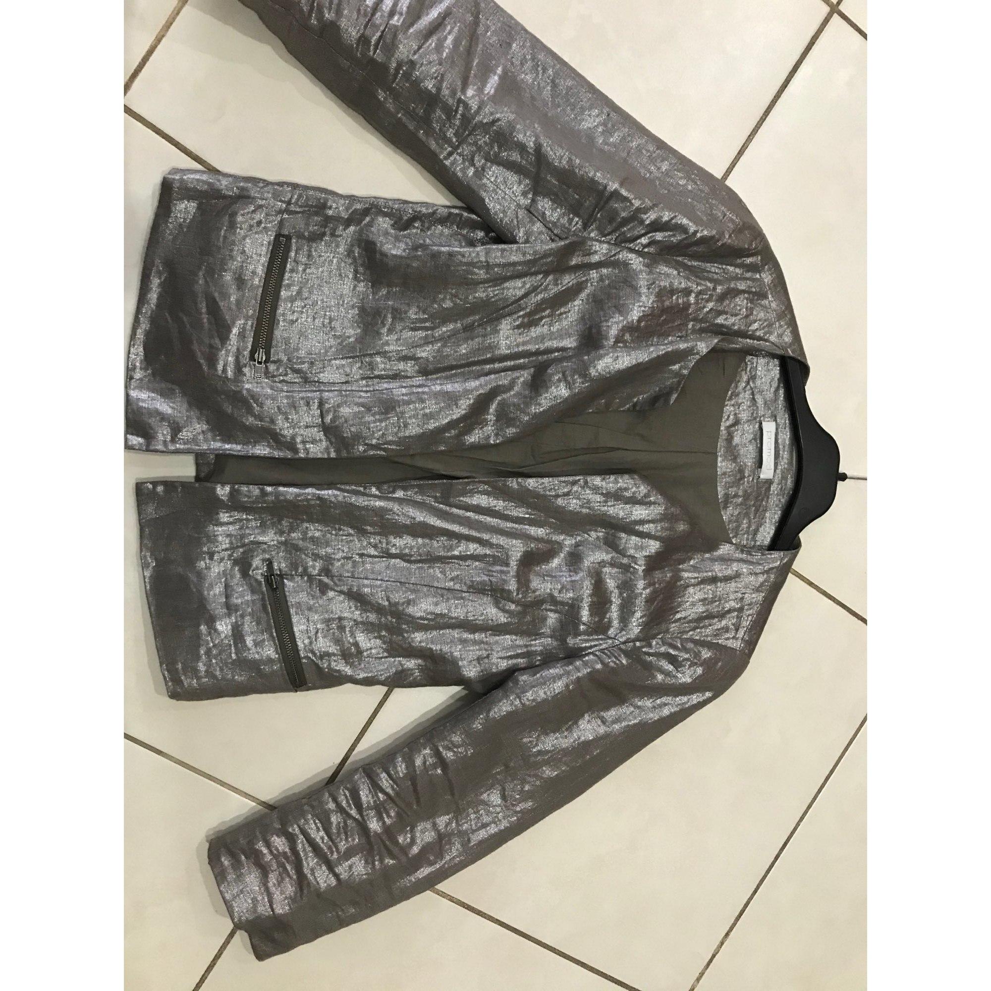 Blazer, veste tailleur PROMOD Doré, bronze, cuivre