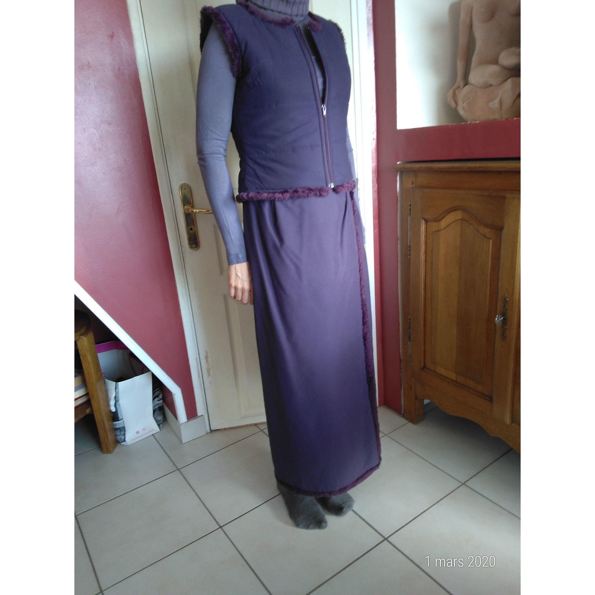 Jupe longue SOLOLA Violet, mauve, lavande