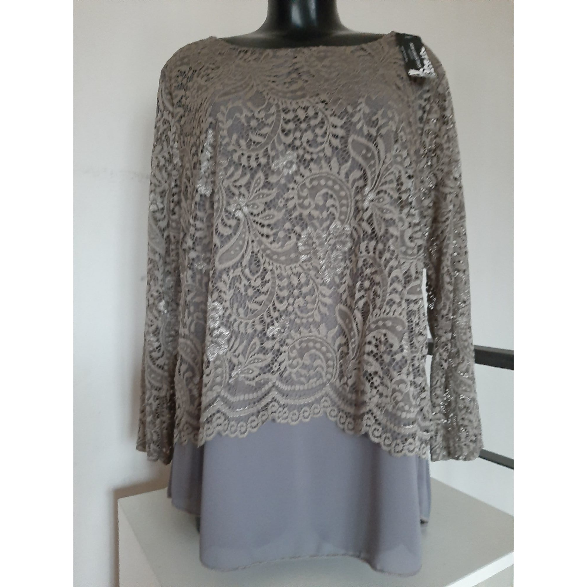 Blouse MADE IN ITALY Marron