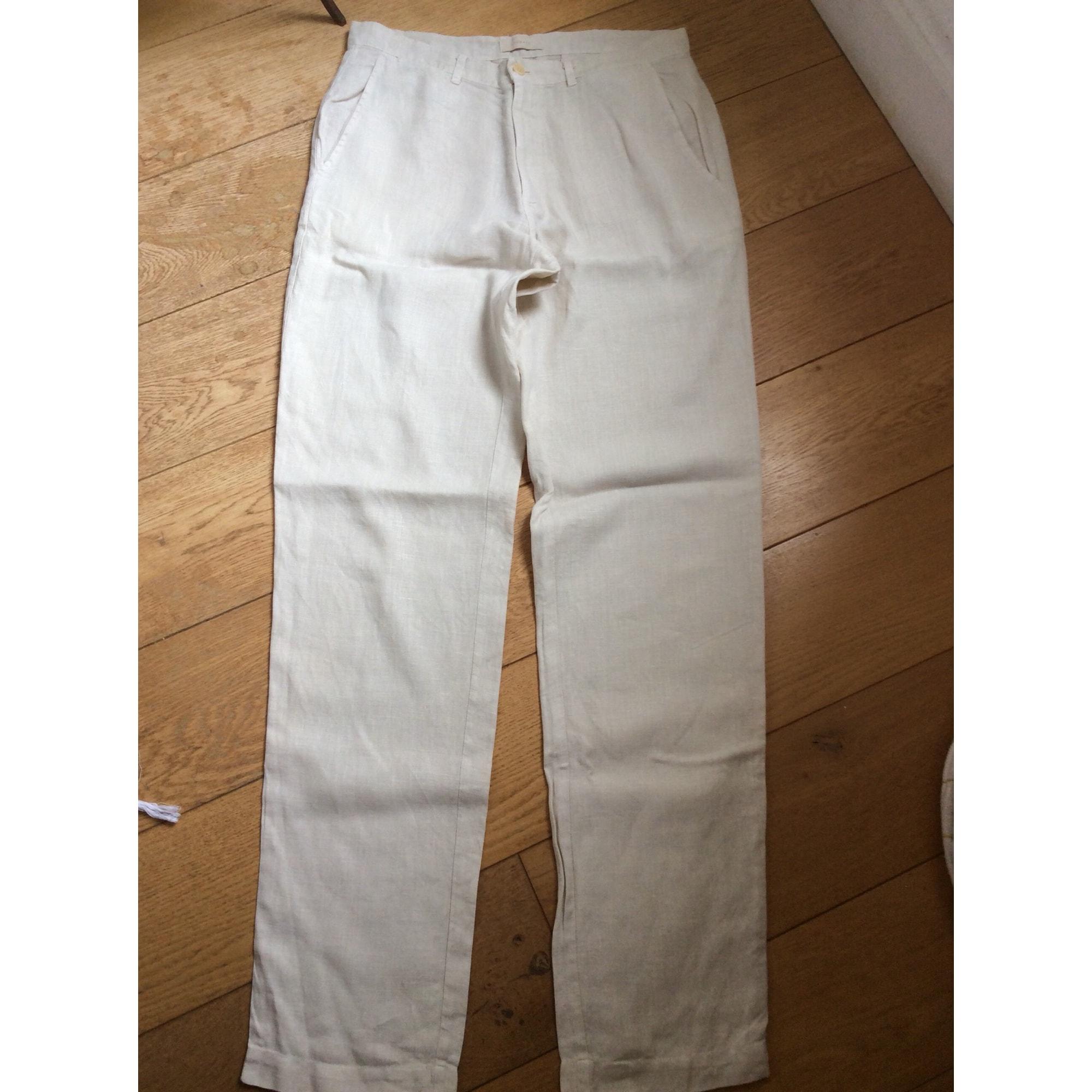 Pantalon large REWASH Beige, camel
