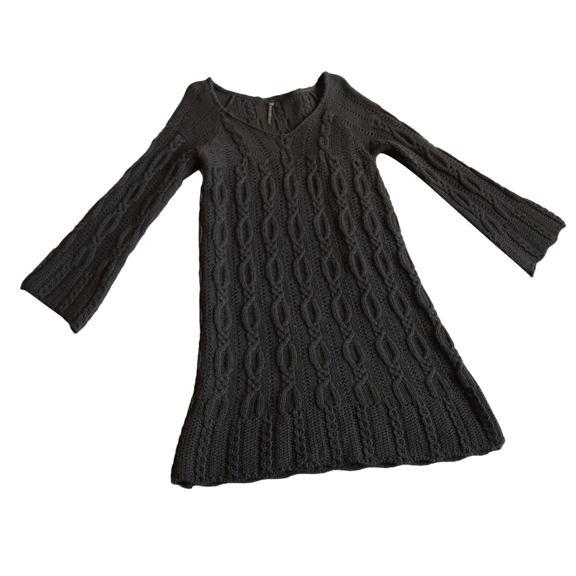 Robe pull SUD EXPRESS Gris, anthracite