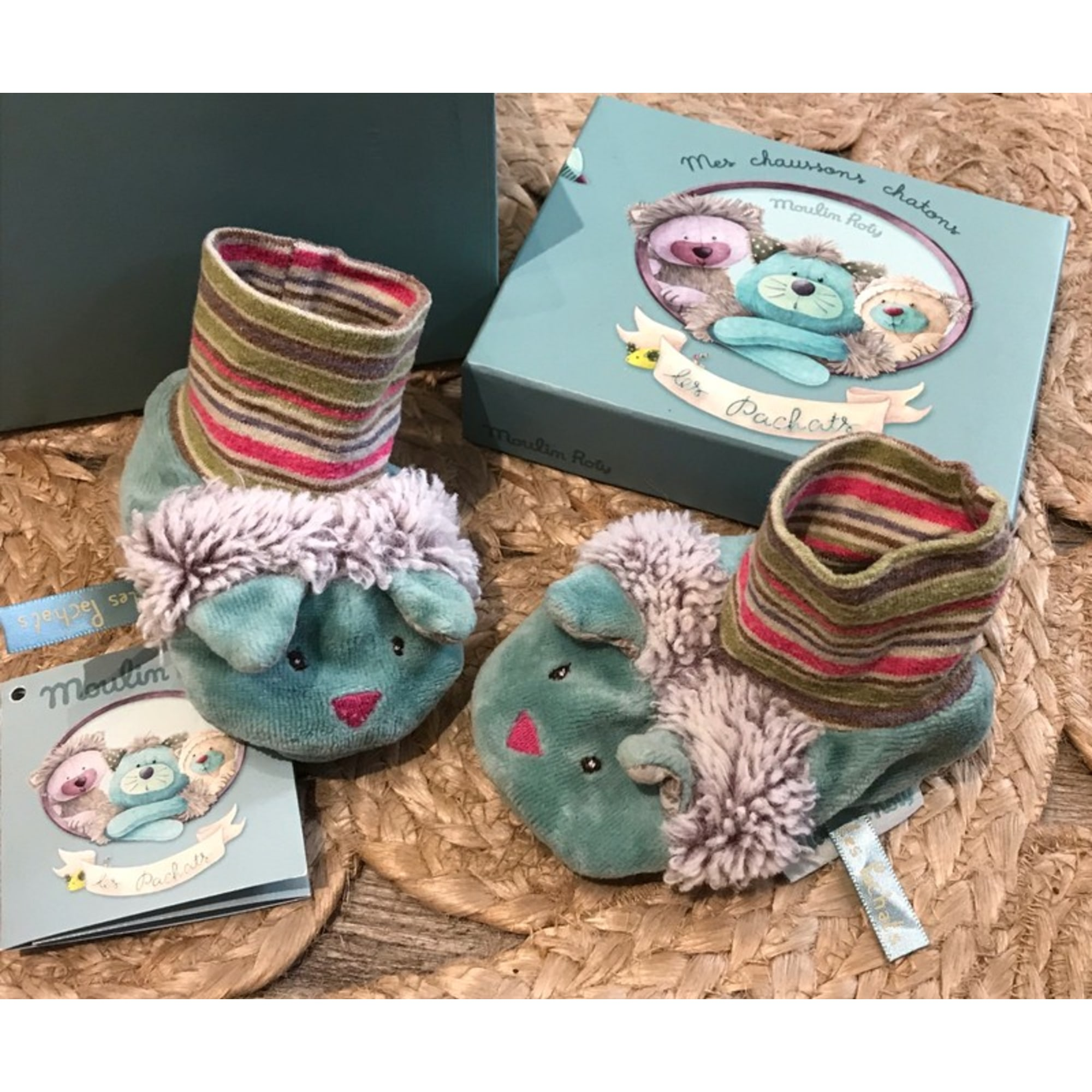 Chaussons MOULIN ROTY Imprimés animaliers