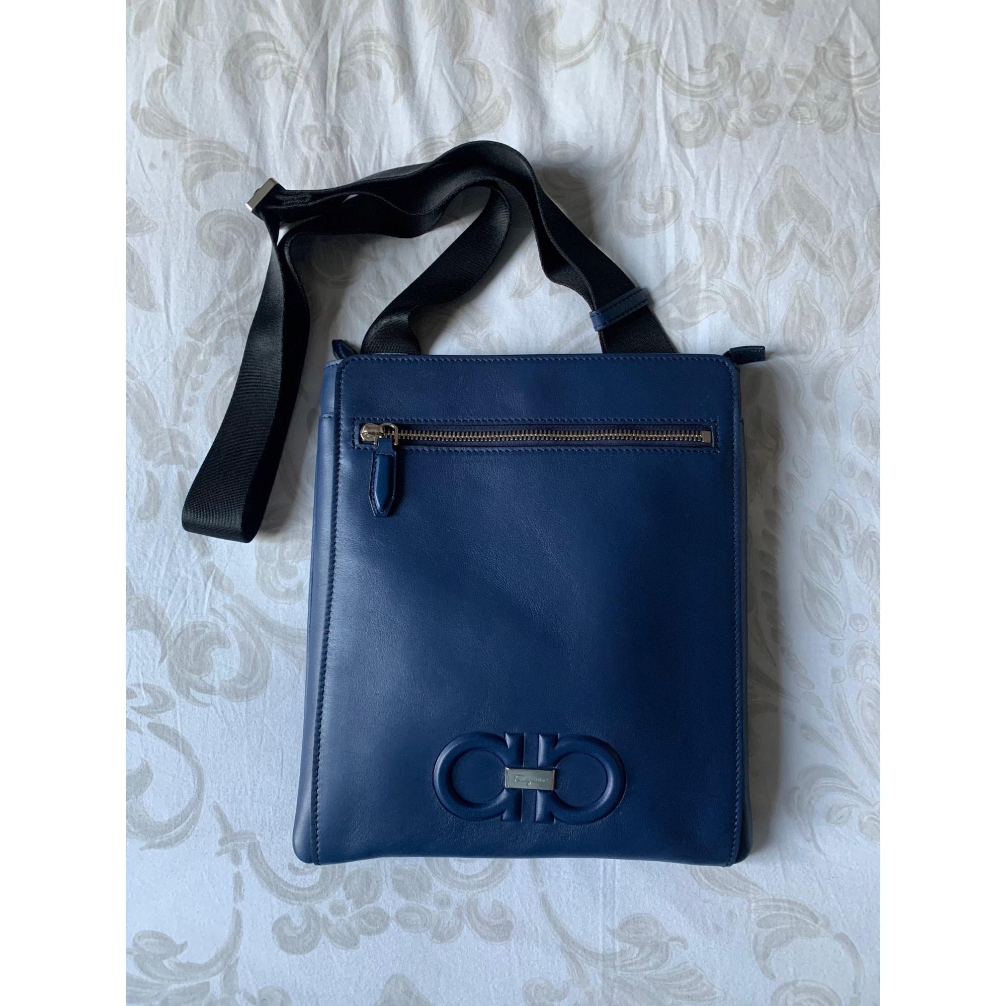 Pochette en bandoulière SALVATORE FERRAGAMO Bleu, bleu marine, bleu turquoise