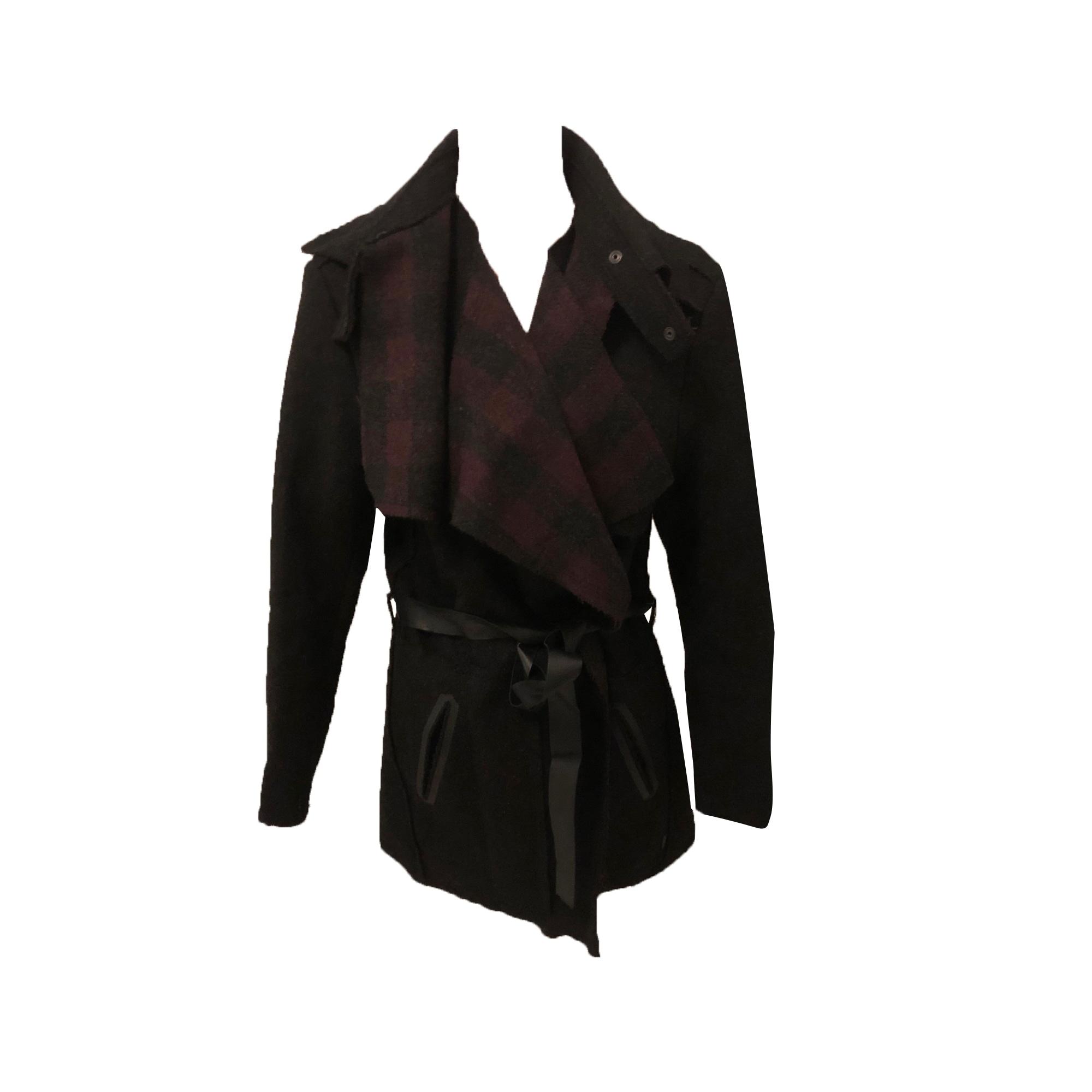 Manteau COP-COPINE Rouge, bordeaux