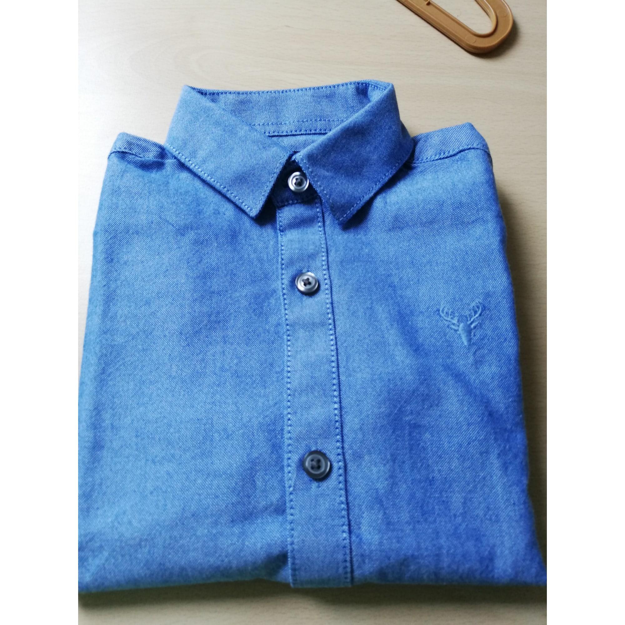 Chemise NEXT Bleu, bleu marine, bleu turquoise