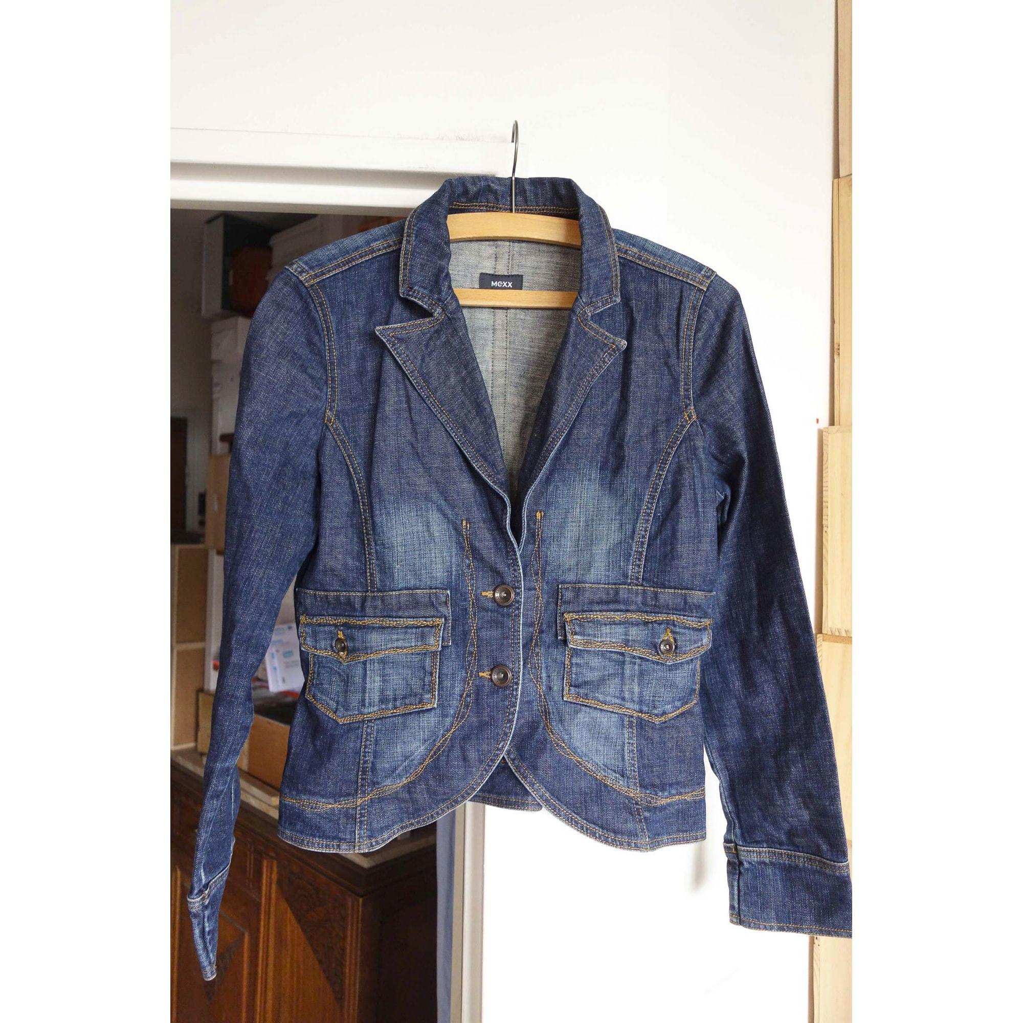 Veste en jean MEXX Bleu, bleu marine, bleu turquoise