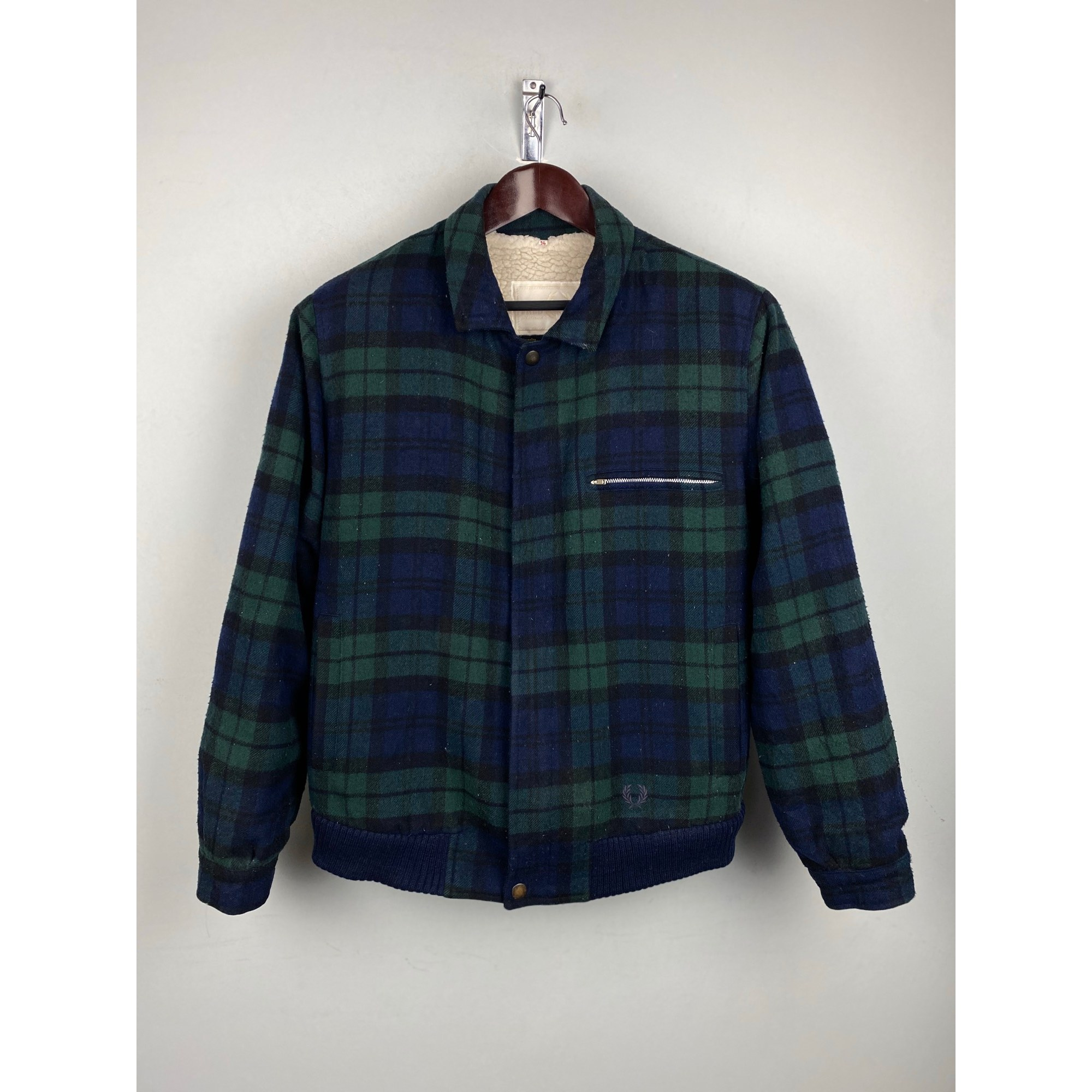 Zipped Jacket FRED PERRY Multicolor