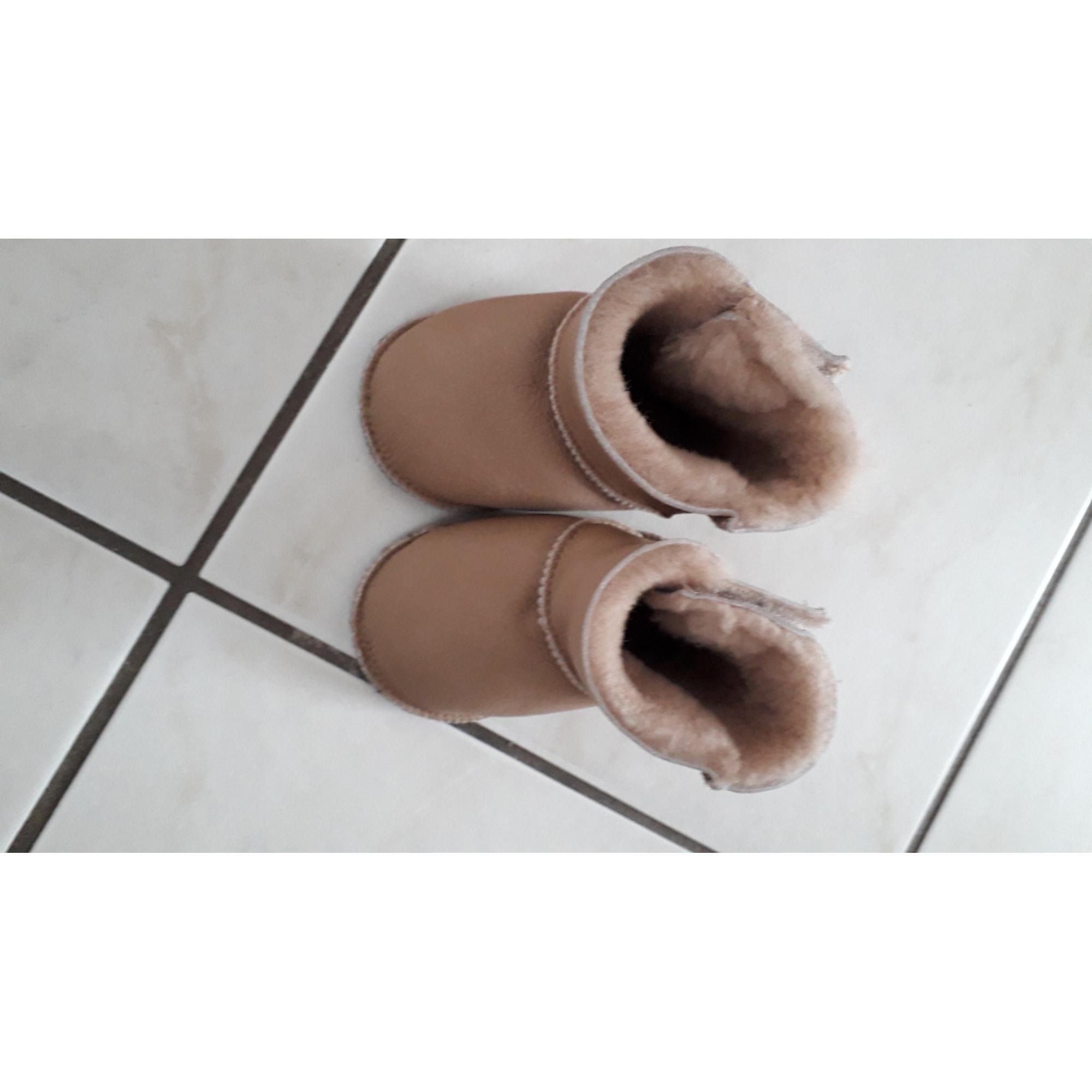 Ankle Boots JE NE CONNAIS PAS Beige, camel