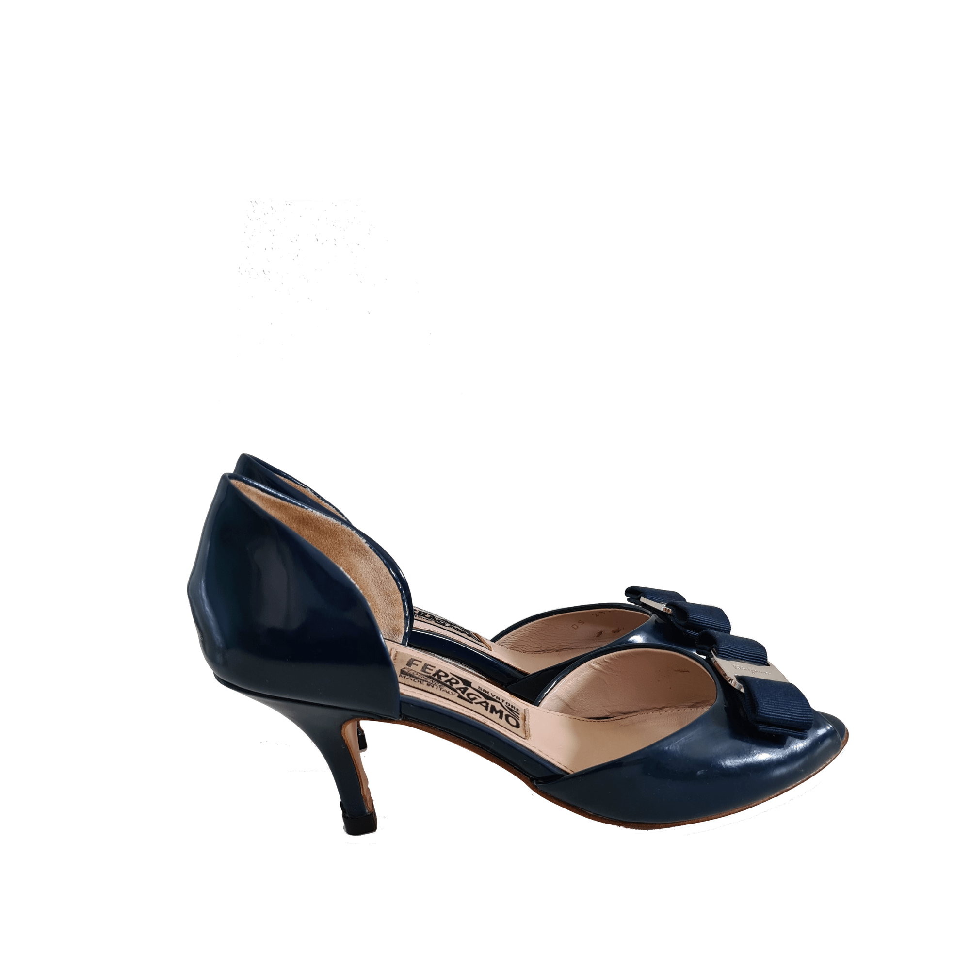 Escarpins SALVATORE FERRAGAMO Bleu, bleu marine, bleu turquoise