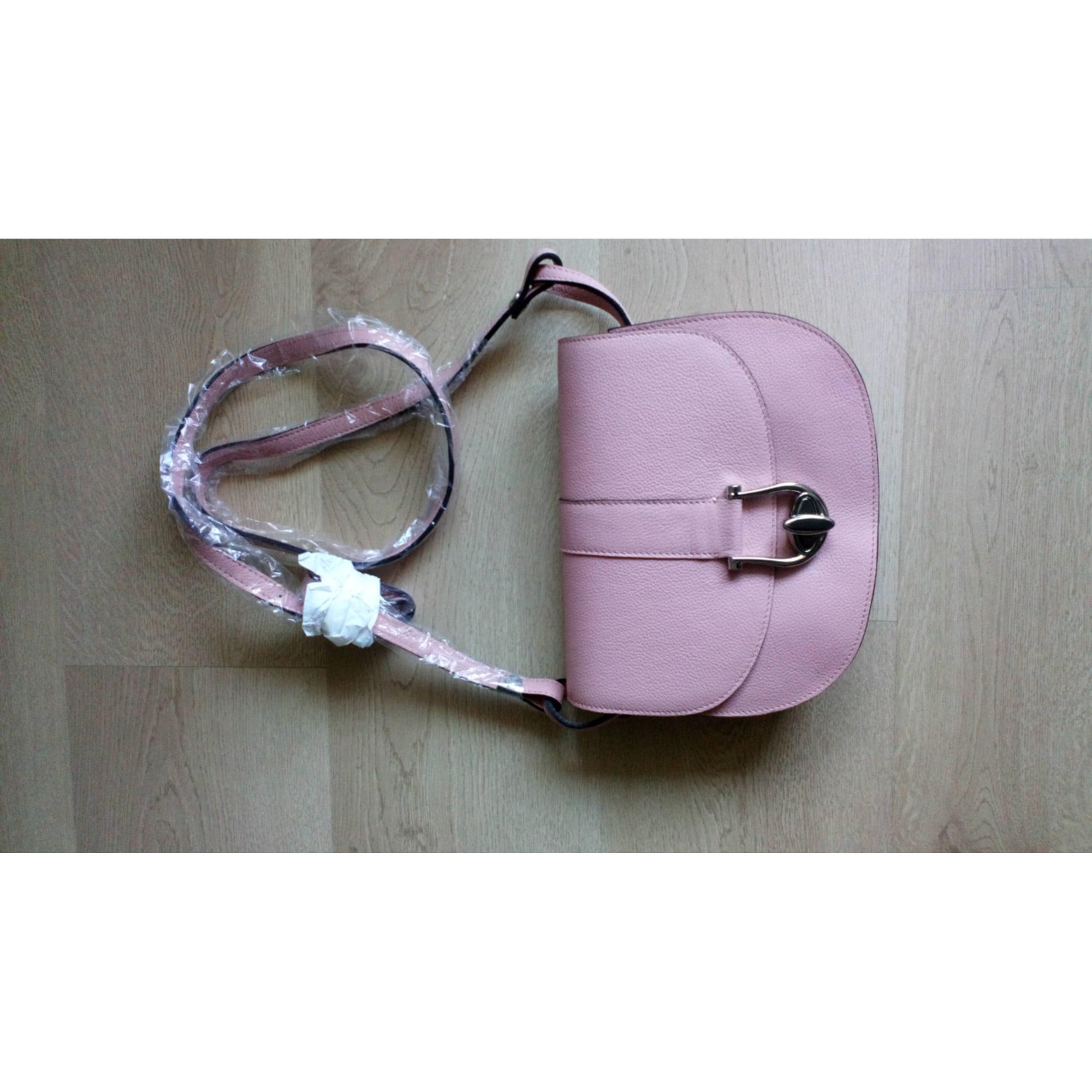 Lederhandtasche LA BAGAGERIE Pink,  altrosa