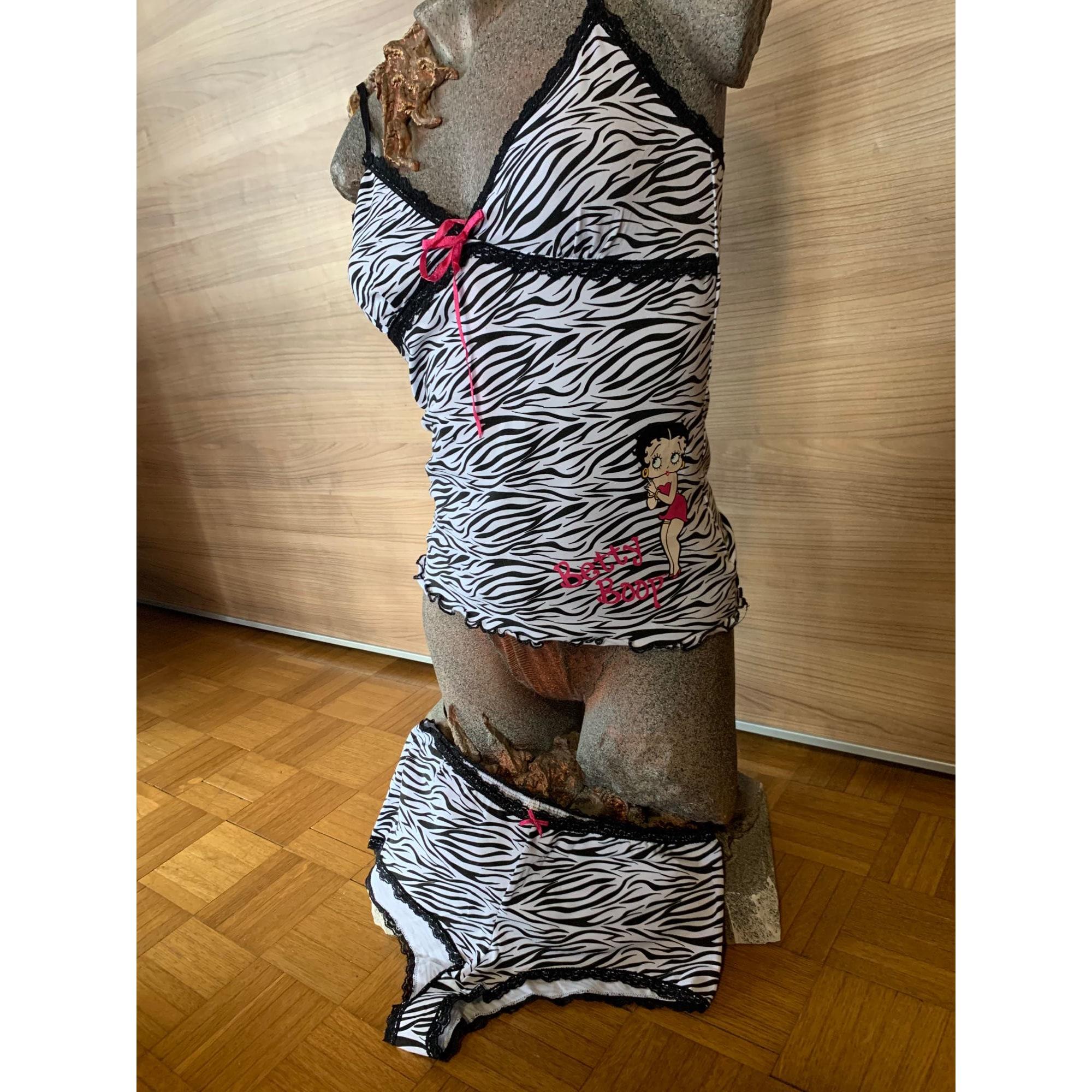 Ensemble, parure lingerie BETTY BOOP Imprimés animaliers