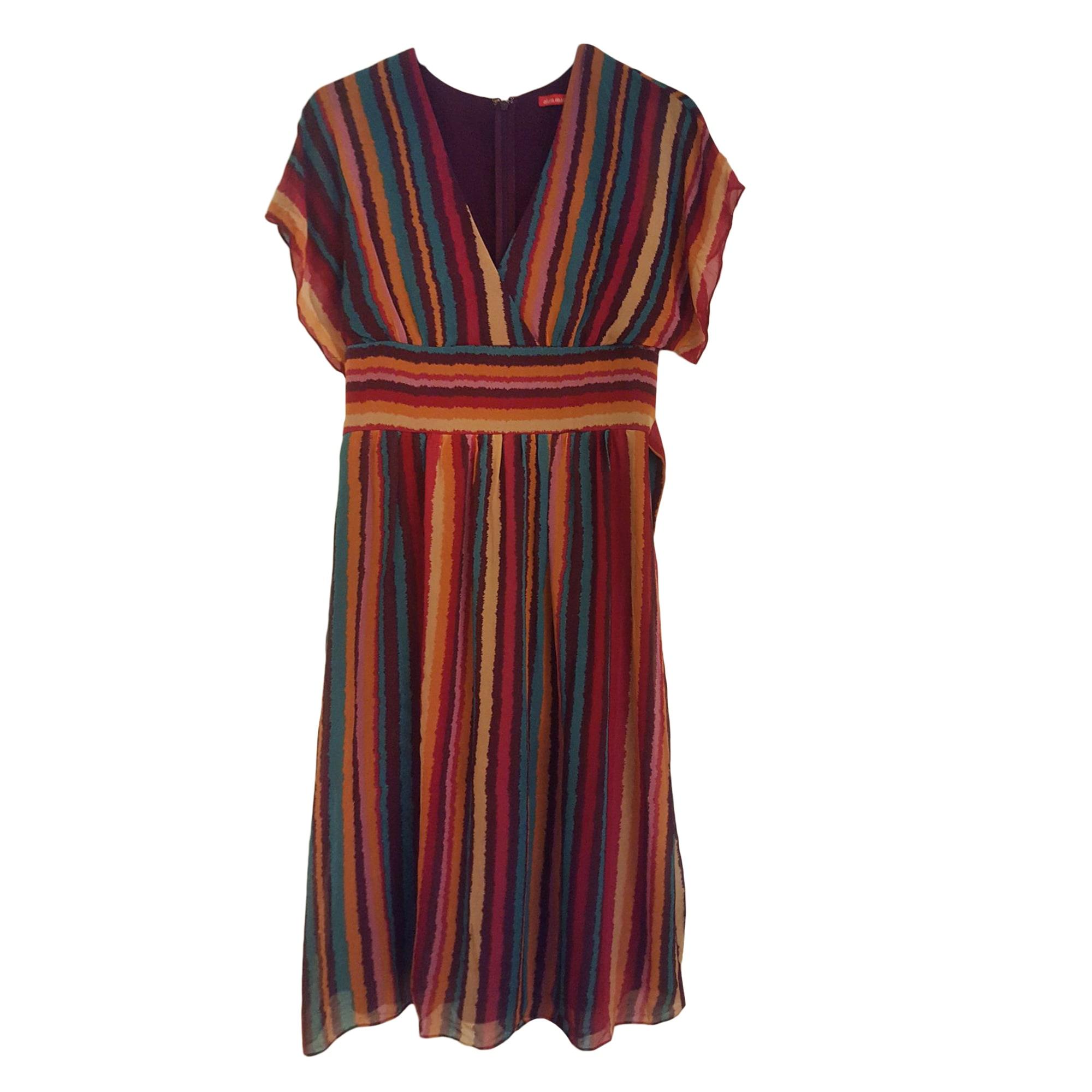 Midi Dress ALAIN MANOUKIAN Multicolor