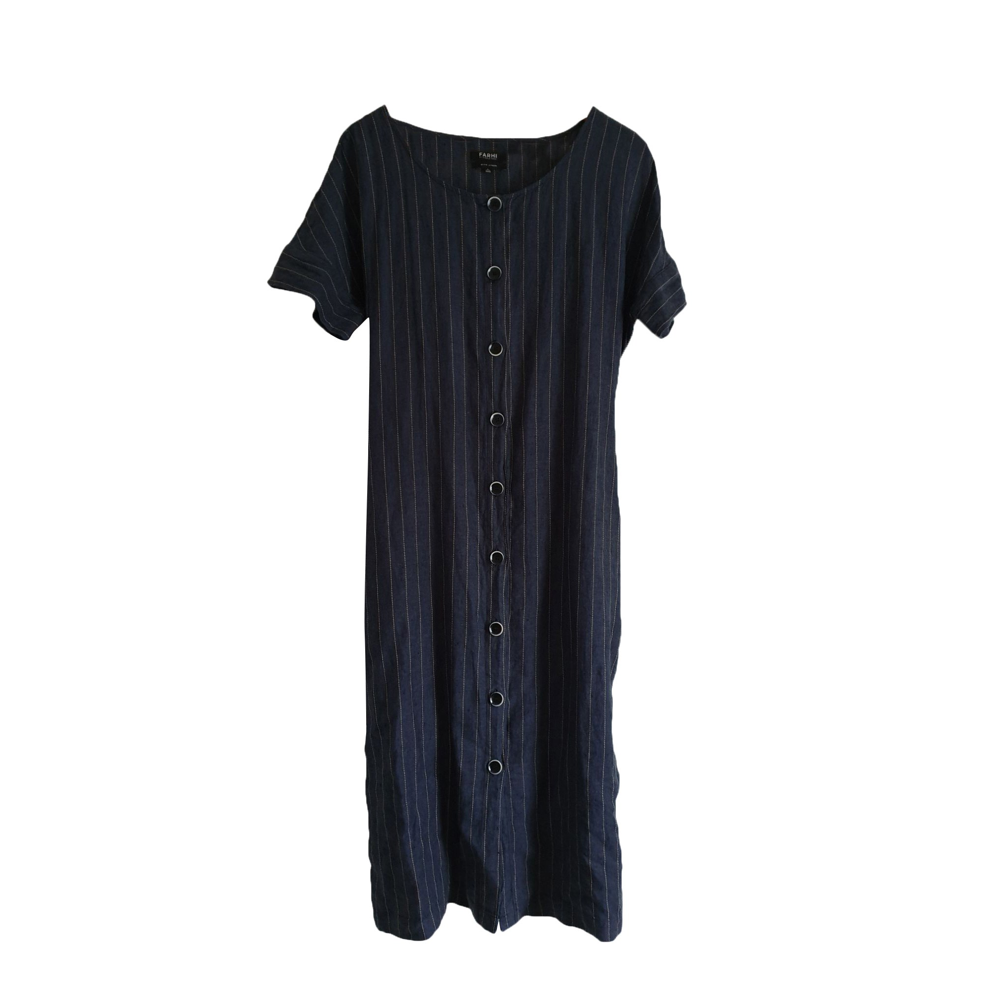 Robe longue NICOLE FAHRI Gris, anthracite