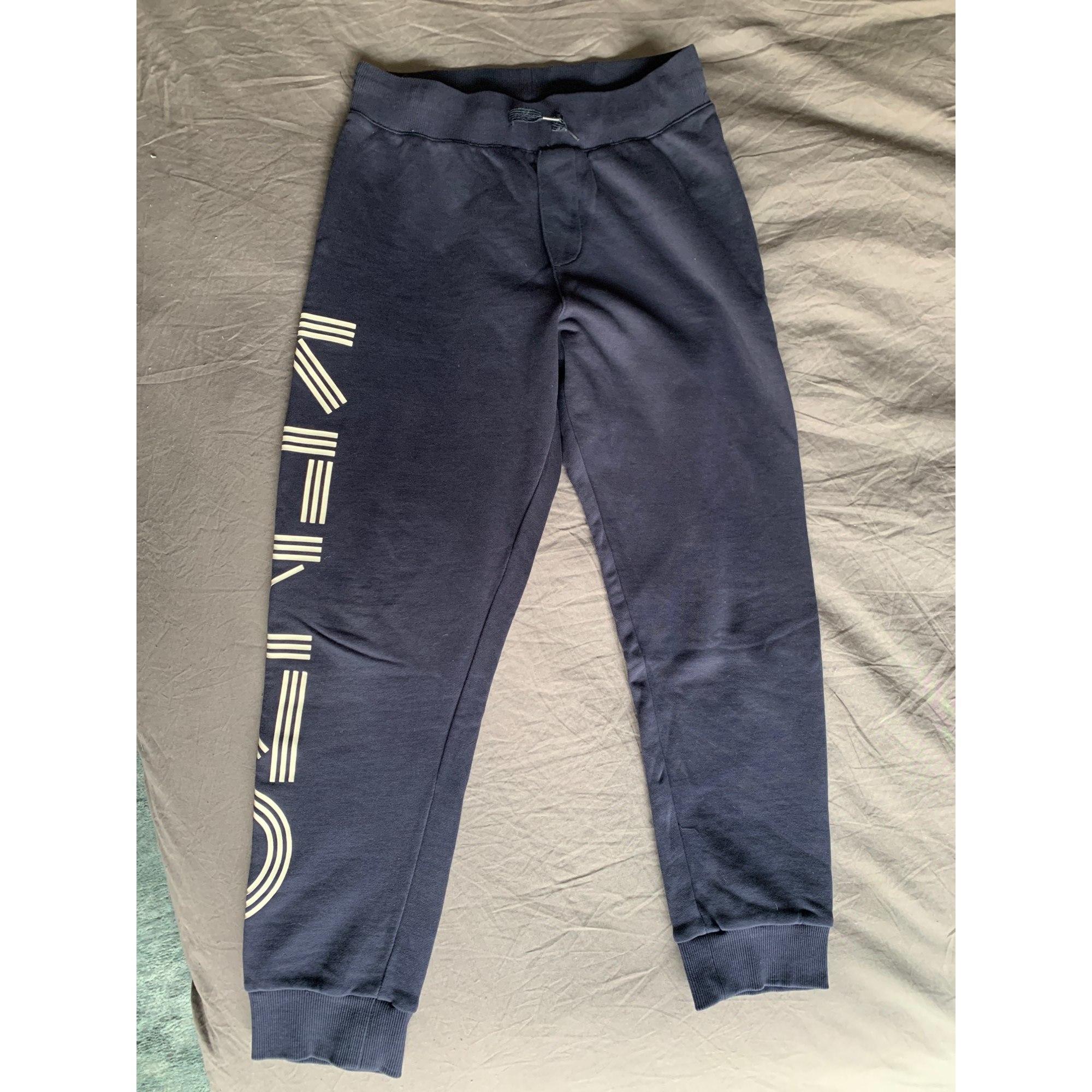 Pantalon de survêtement KENZO Bleu, bleu marine, bleu turquoise
