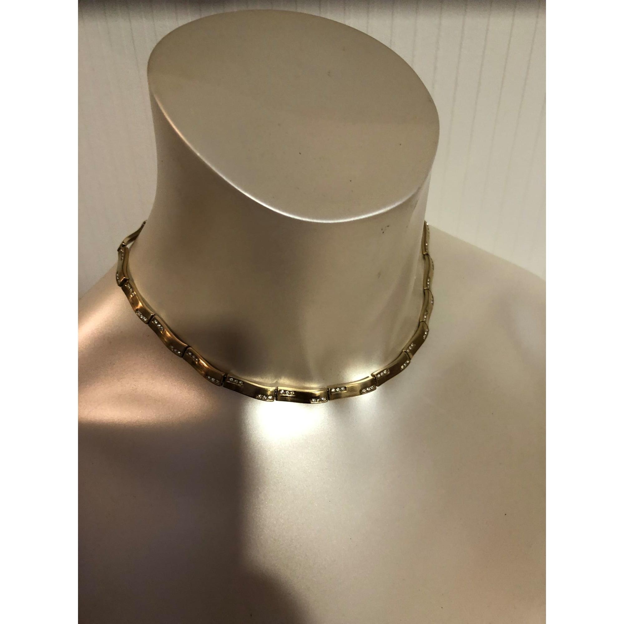 Collier MONET Doré, bronze, cuivre