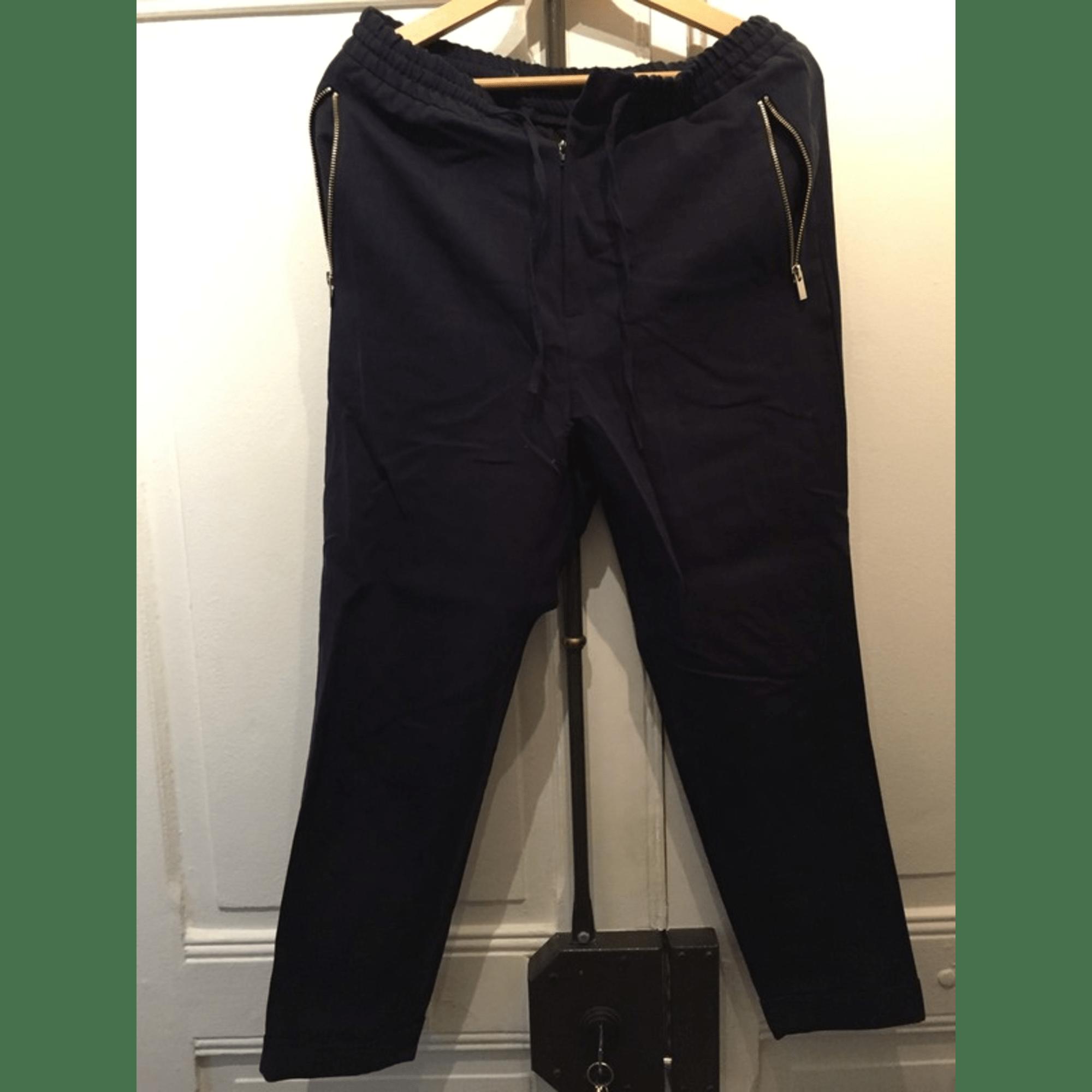 Pantalon droit THE KOOPLES Noir