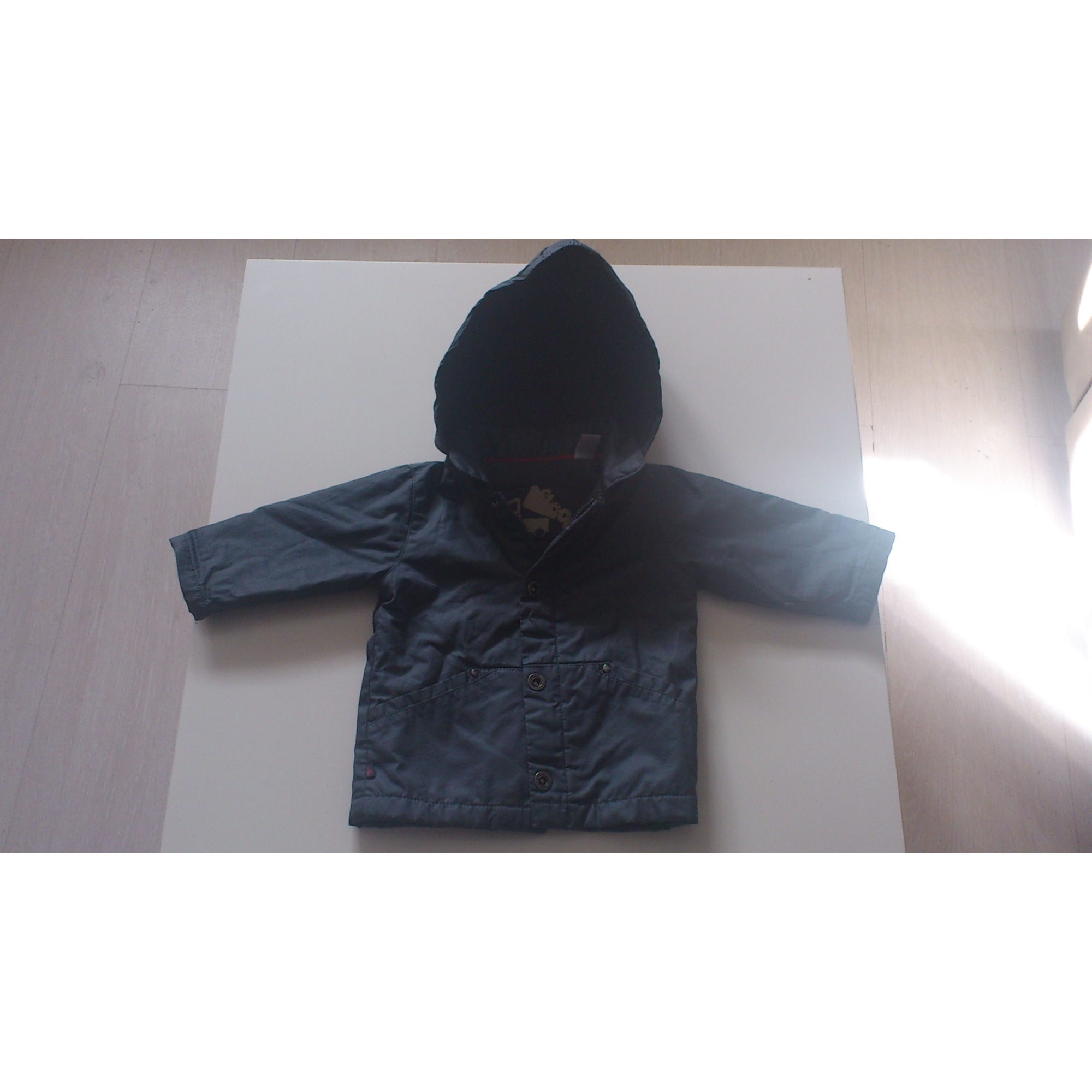 Parka OKAÏDI Bleu, bleu marine, bleu turquoise
