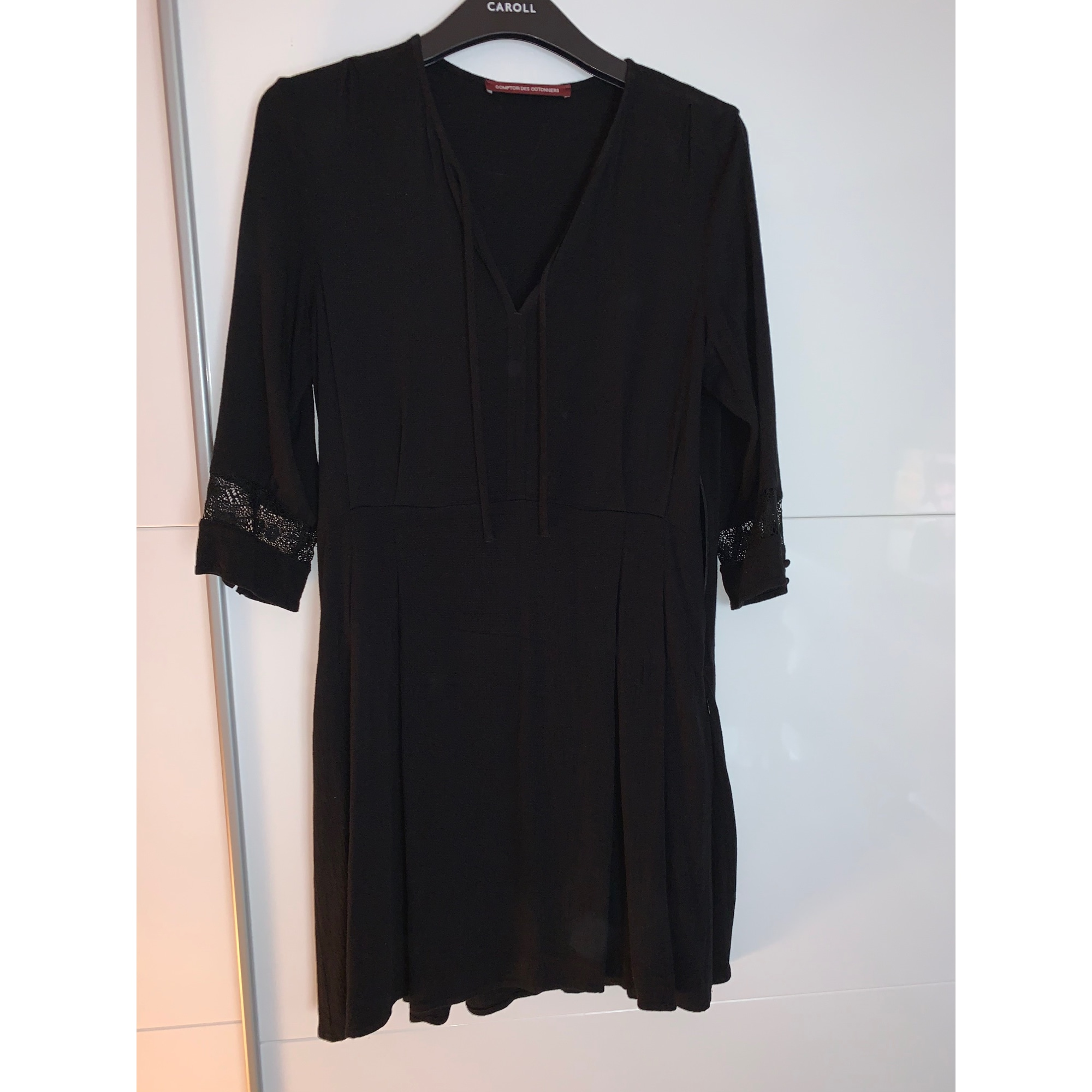 Robe courte COMPTOIR DES COTONNIERS Noir