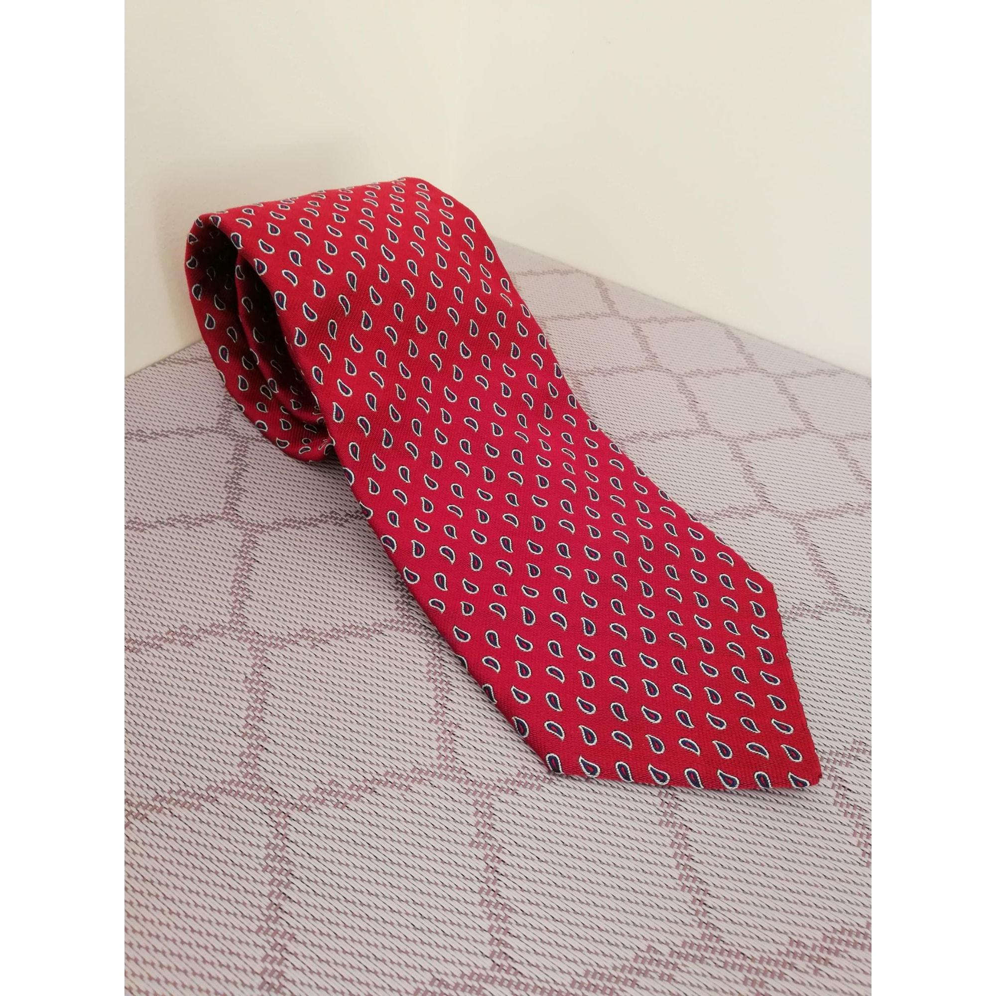 Cravate FAÇONNABLE Rouge, bordeaux