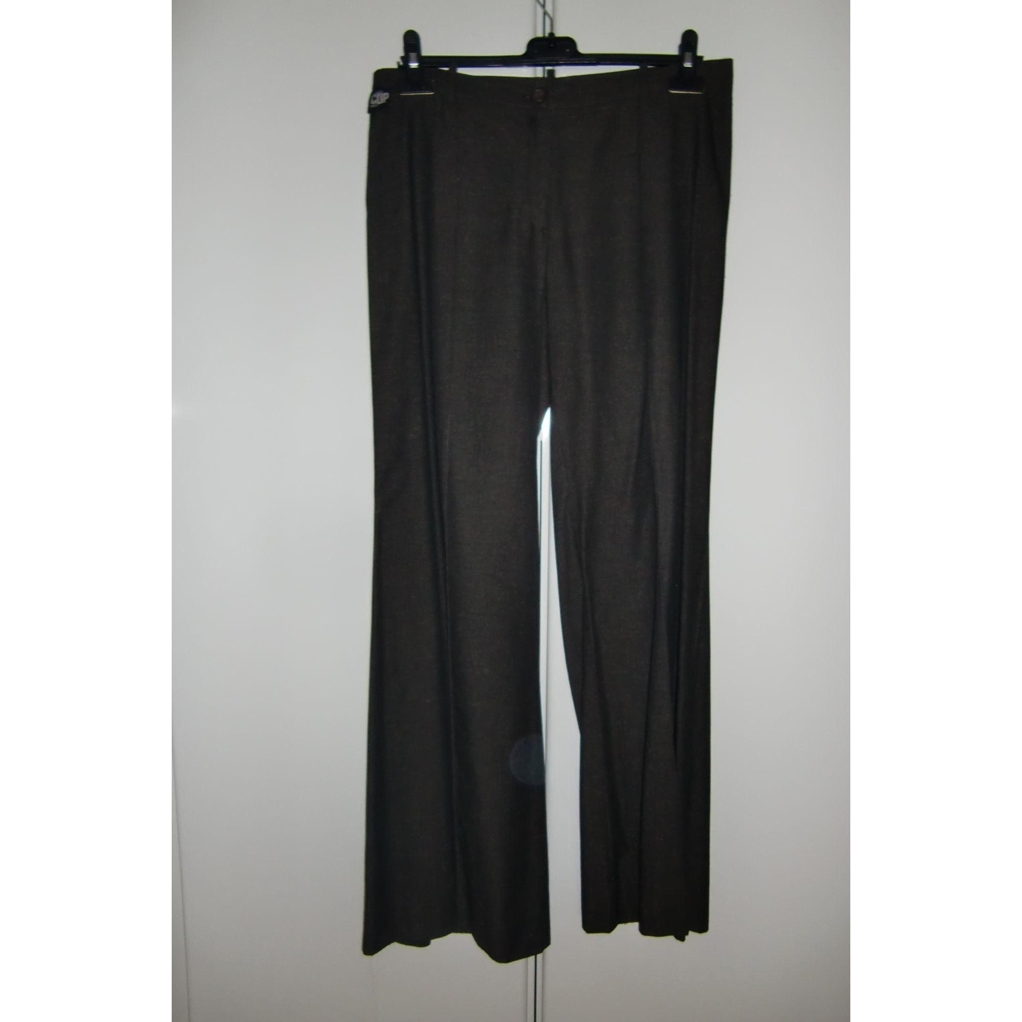 Pantalon large COP-COPINE Gris, anthracite
