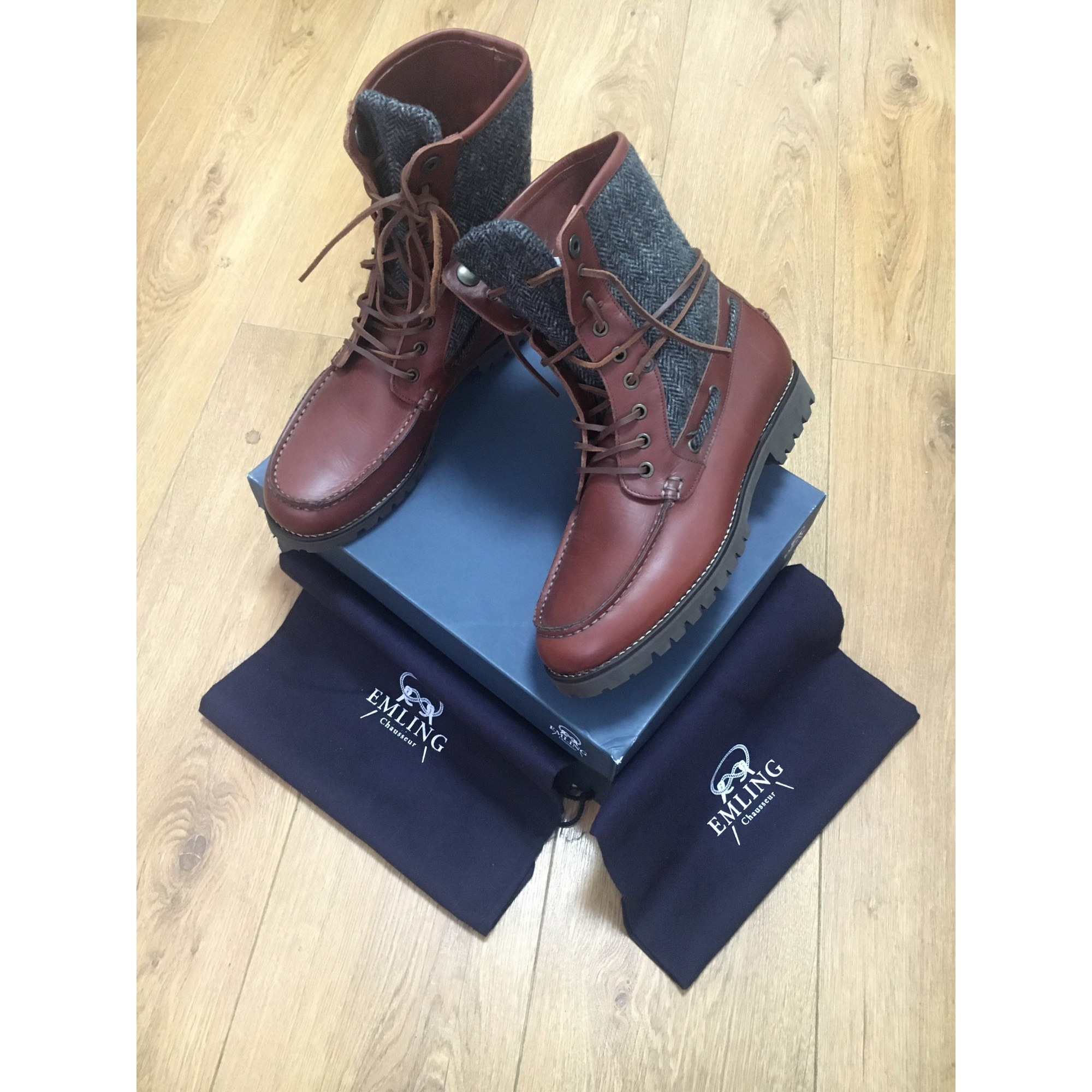 Bottines EMLING Marron