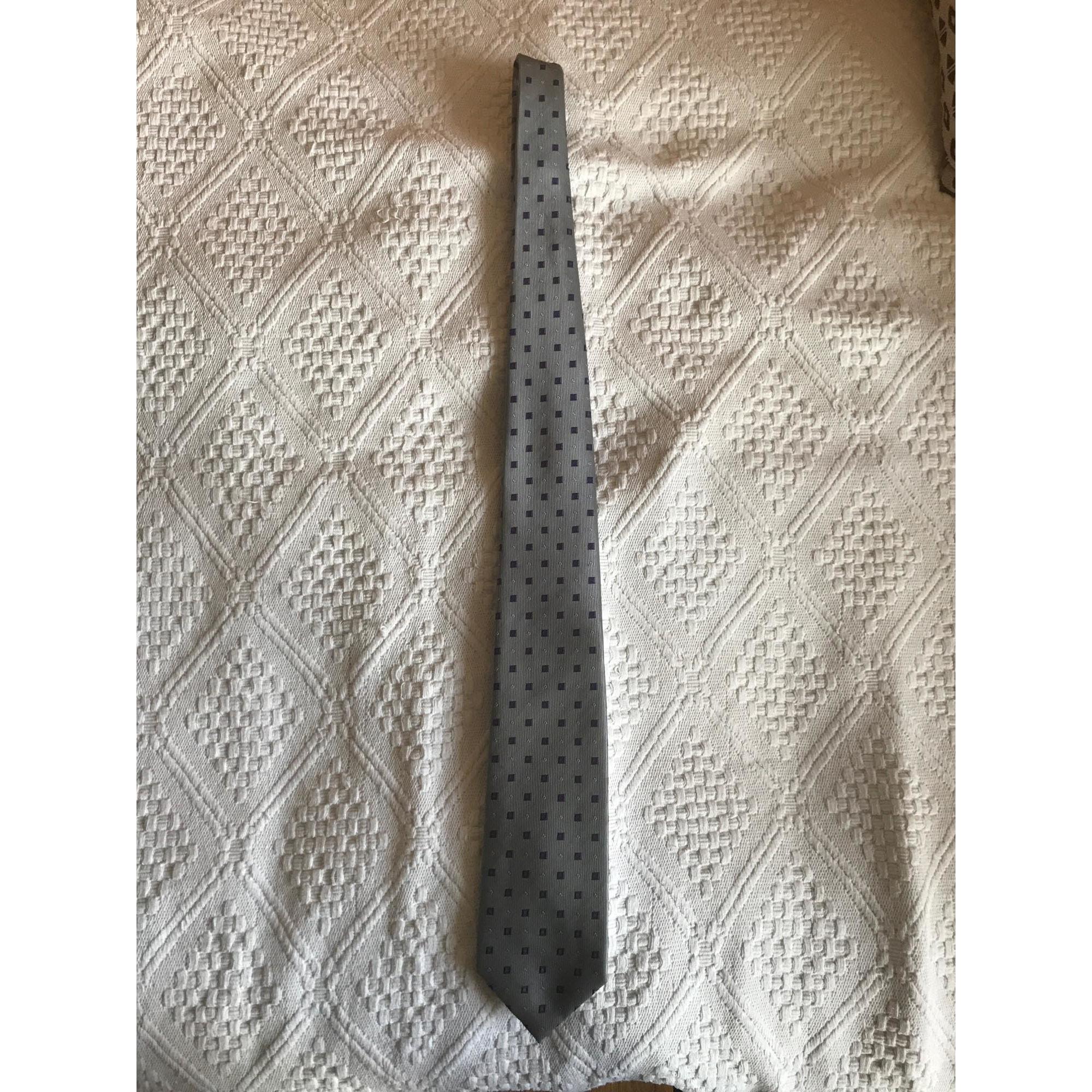 Cravate GALERIES LAFAYETTE Gris, anthracite