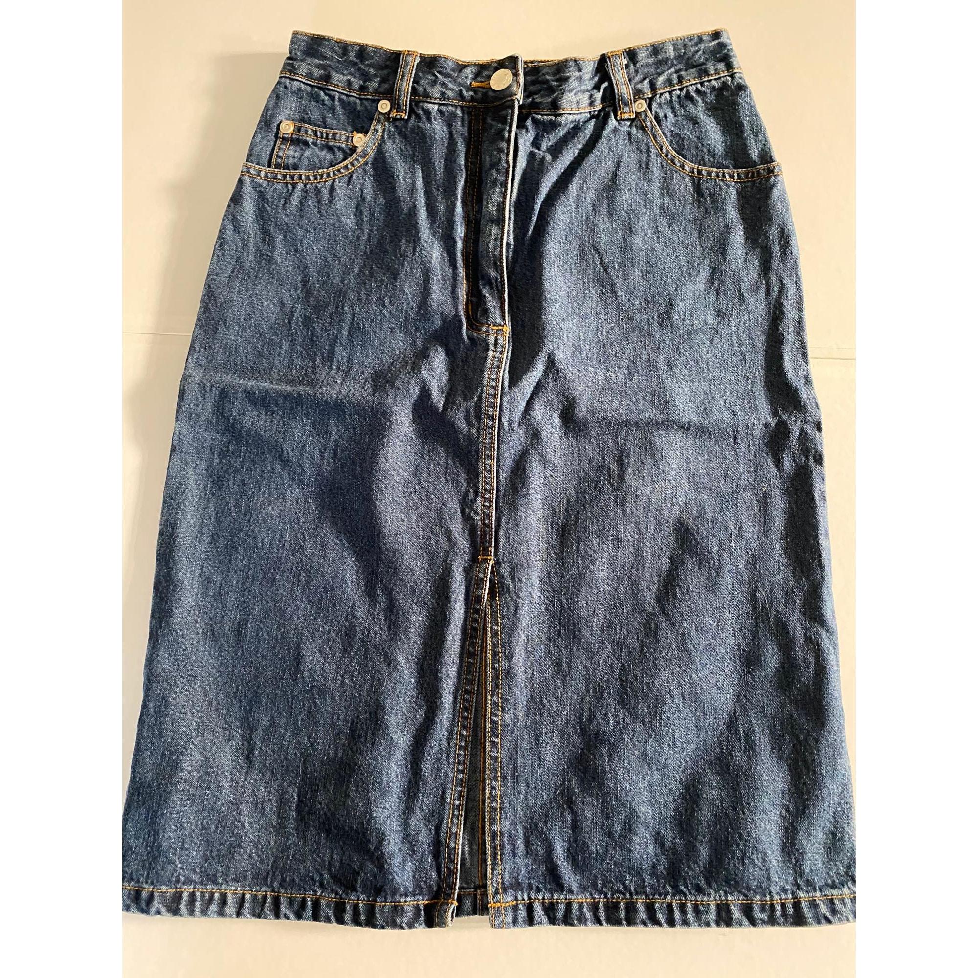 Jupe en jean ETAM Bleu jean