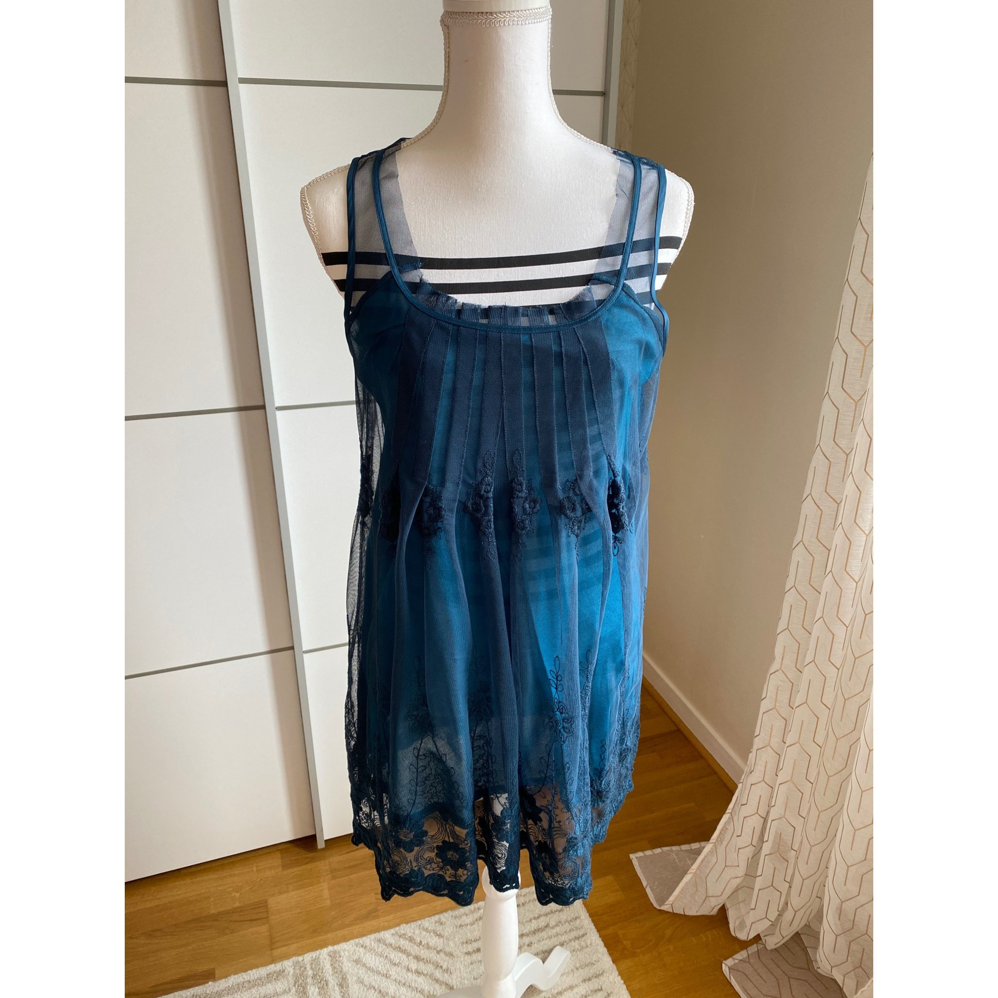 Tunique PROMOD Bleu, bleu marine, bleu turquoise