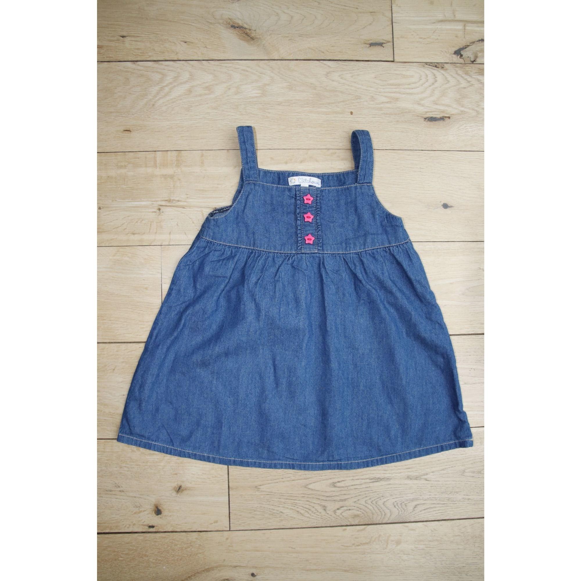 Robe KITCHOUN Bleu, bleu marine, bleu turquoise