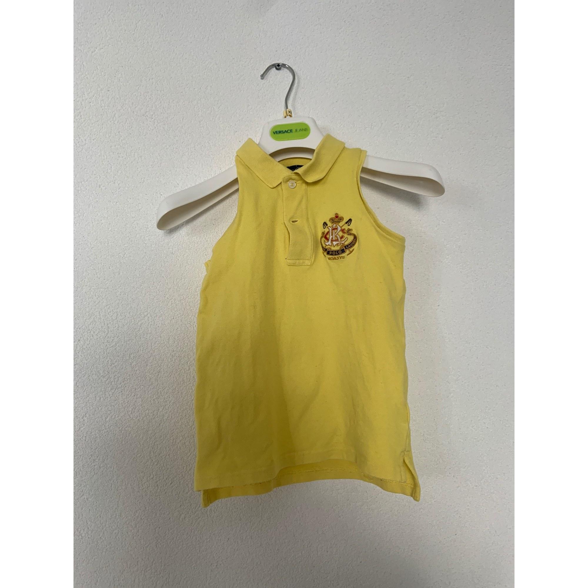 Top, Tee-shirt RALPH LAUREN Jaune