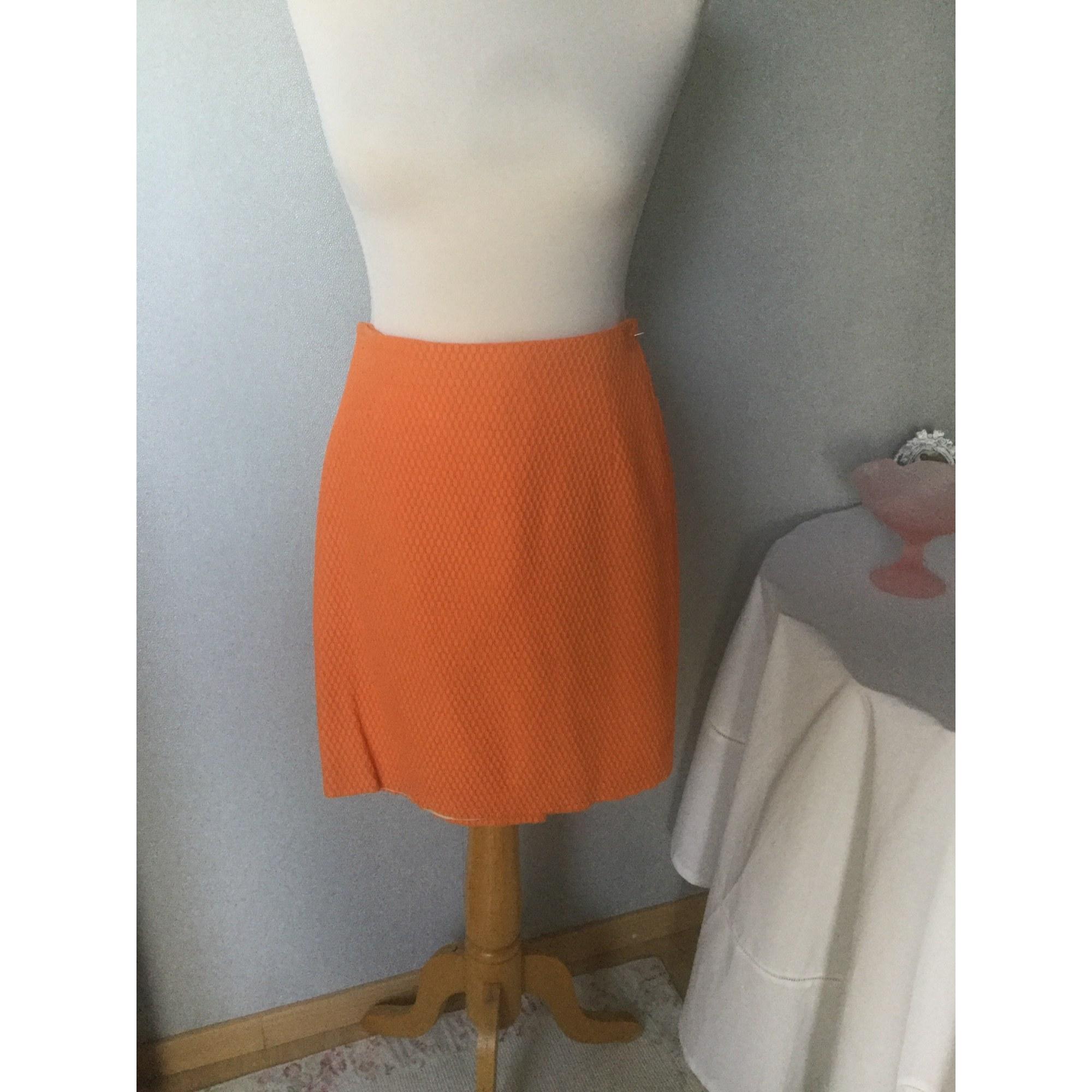 Jupe courte CAROLL Orange