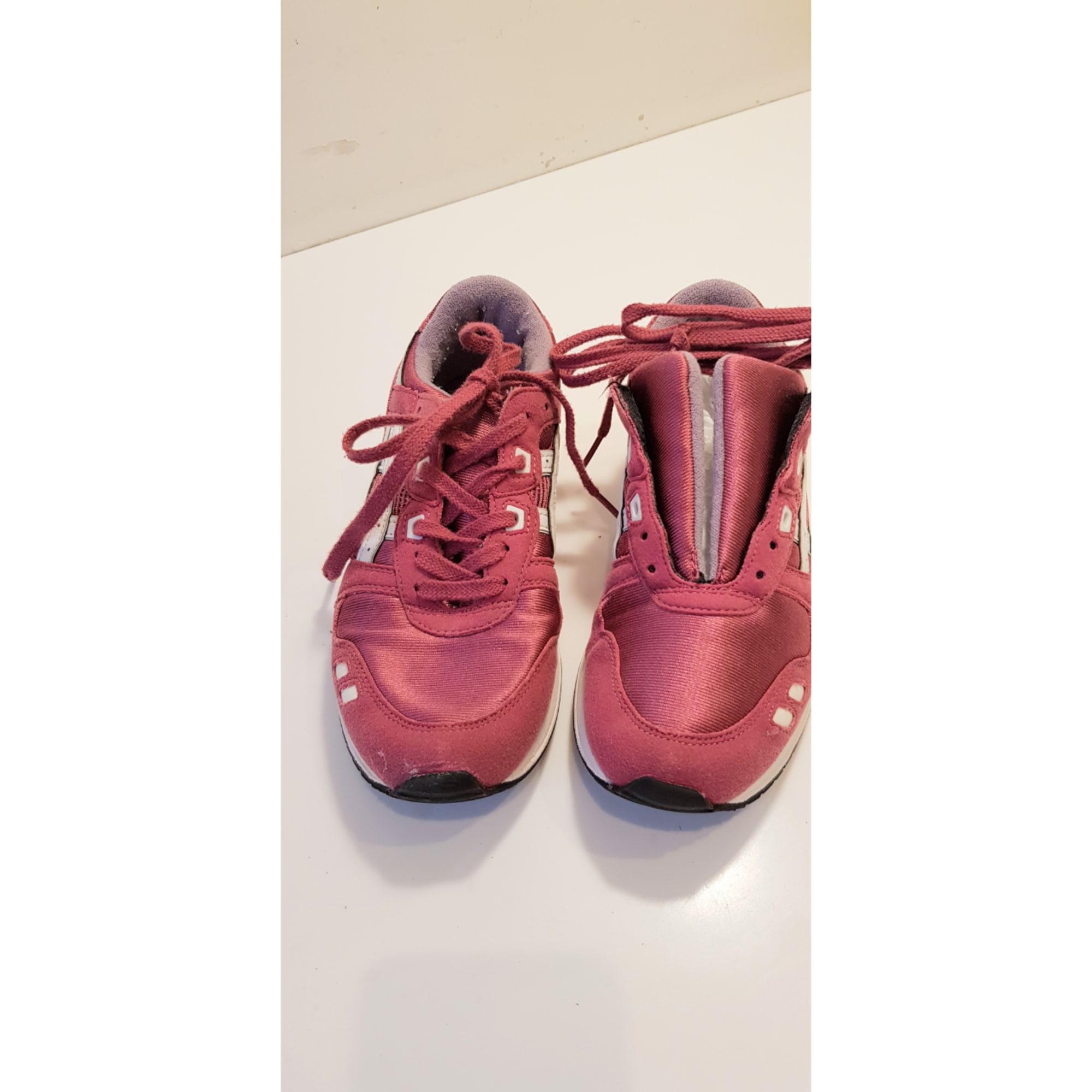Chaussures de sport ASICS Rose, fuschia, vieux rose