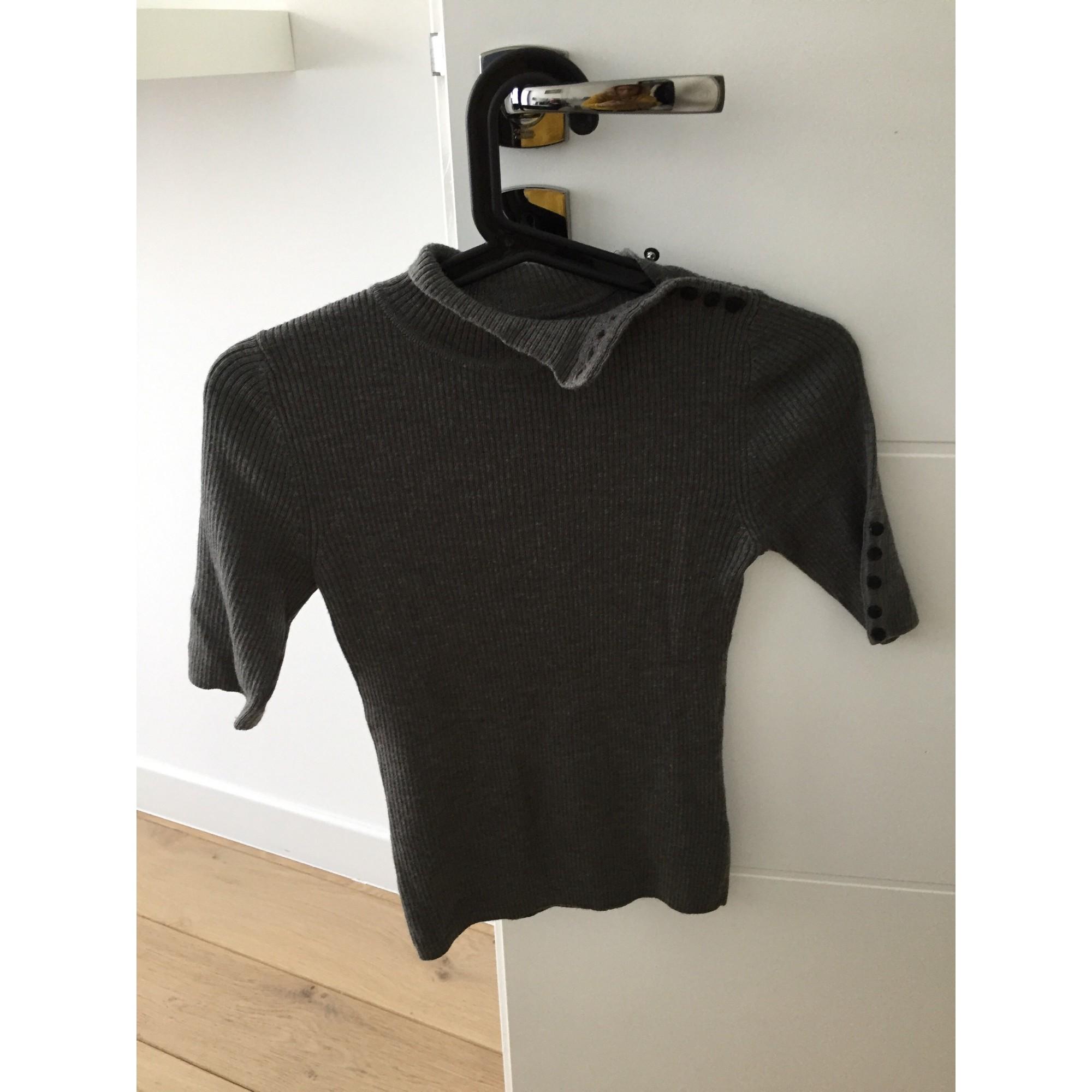 Top, tee-shirt CAROLL Gris, anthracite