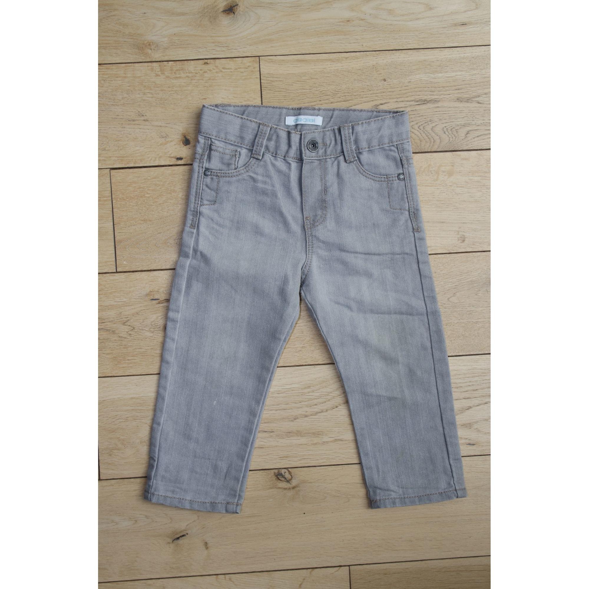 Pantalon OKAÏDI Gris, anthracite