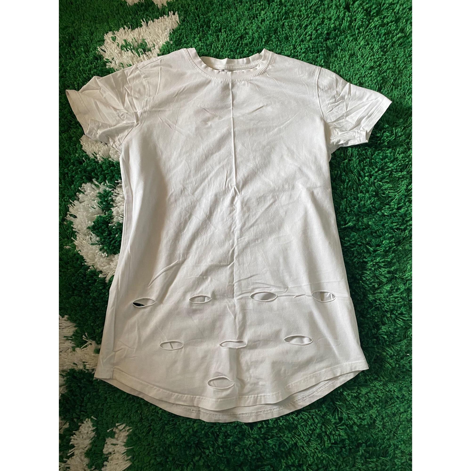 Tee-shirt PROJECT X Blanc, blanc cassé, écru