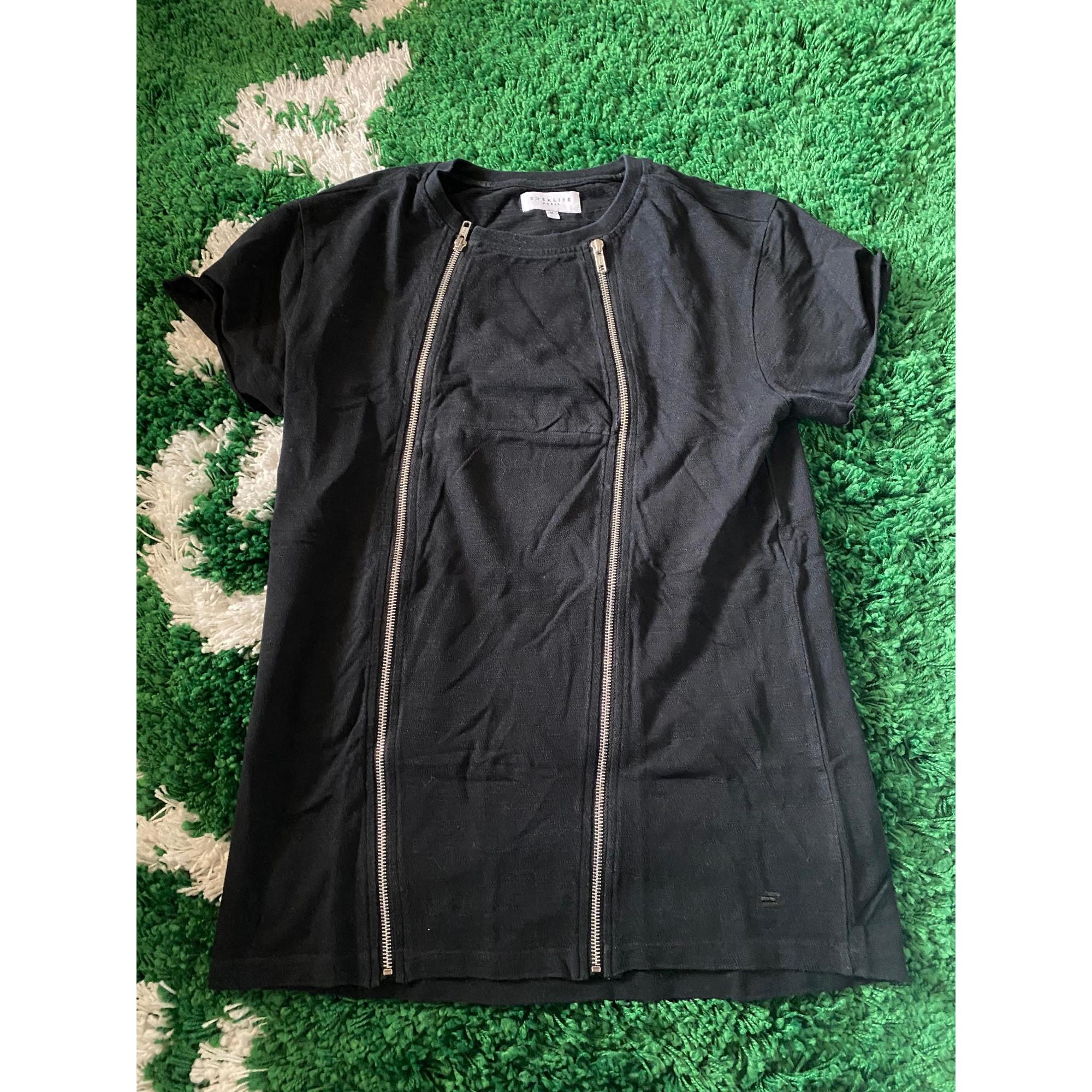 Tee-shirt EVERLIFE PARIS Noir