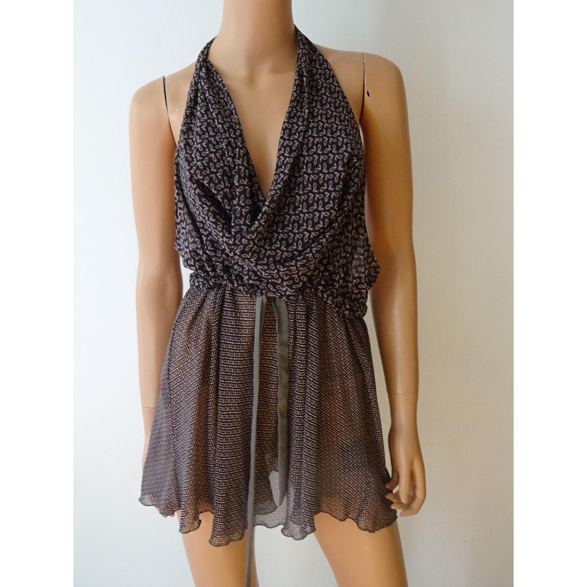 Robe dos nu COP-COPINE Violet, mauve, lavande