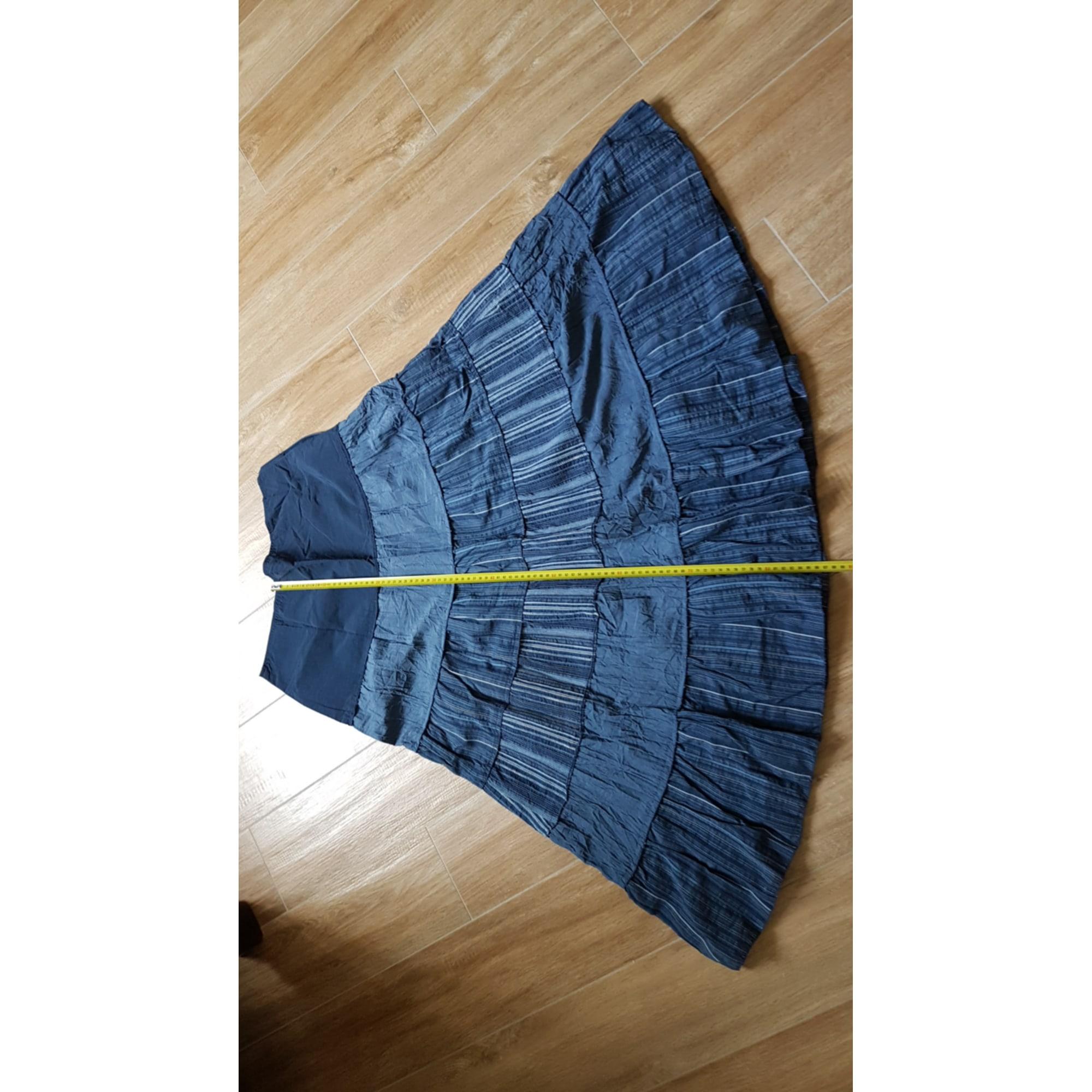 Jupe mi-longue ARMAND THIERY Bleu, bleu marine, bleu turquoise