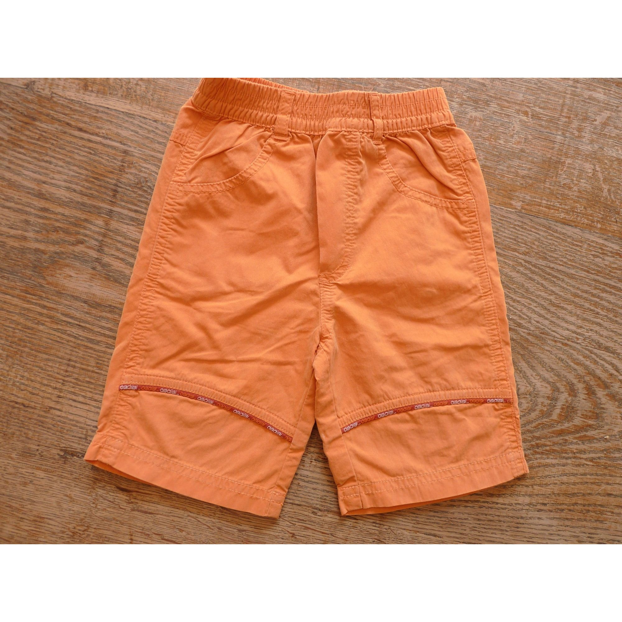 Bermuda Shorts OBAIBI Orange