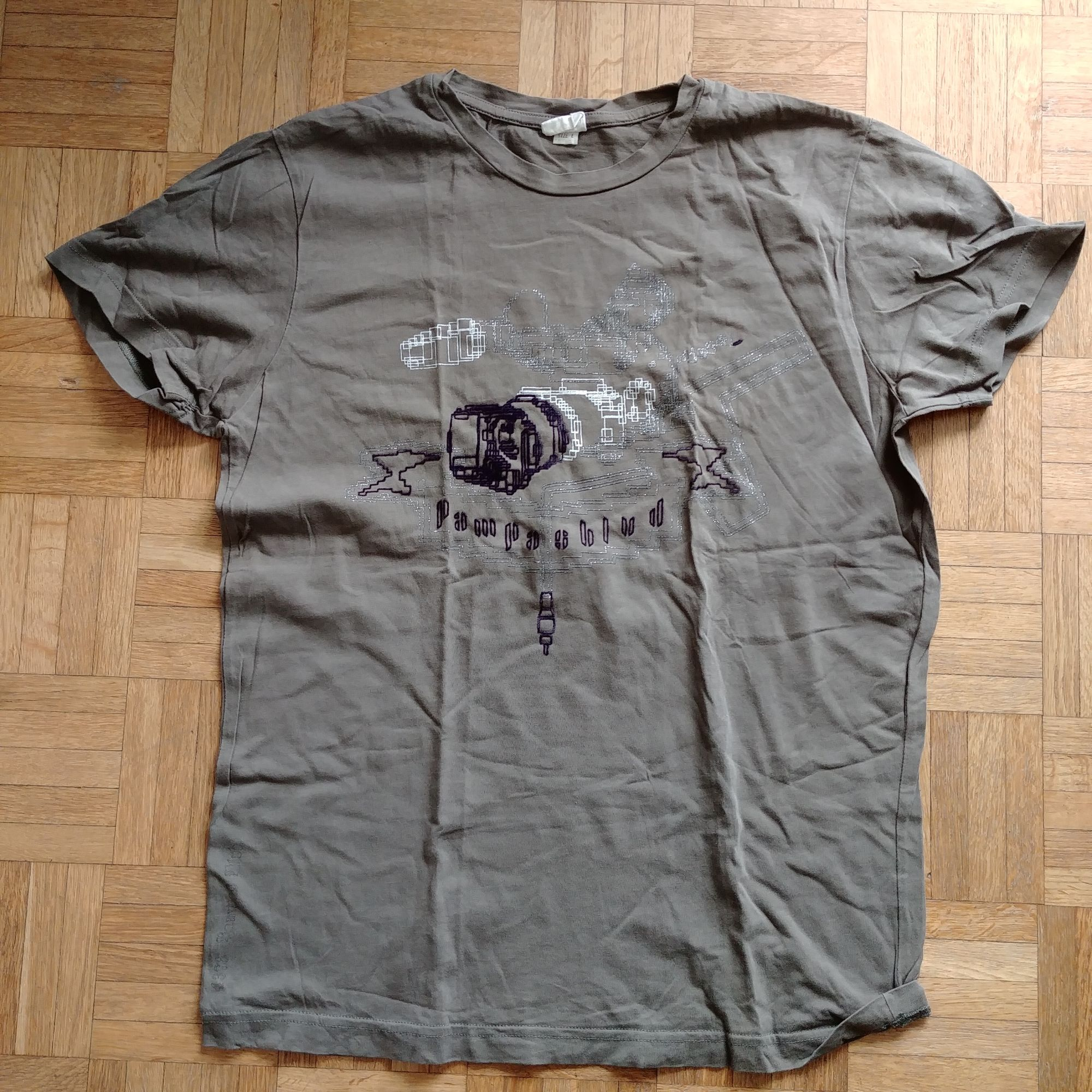 Tee-shirt DIESEL Kaki