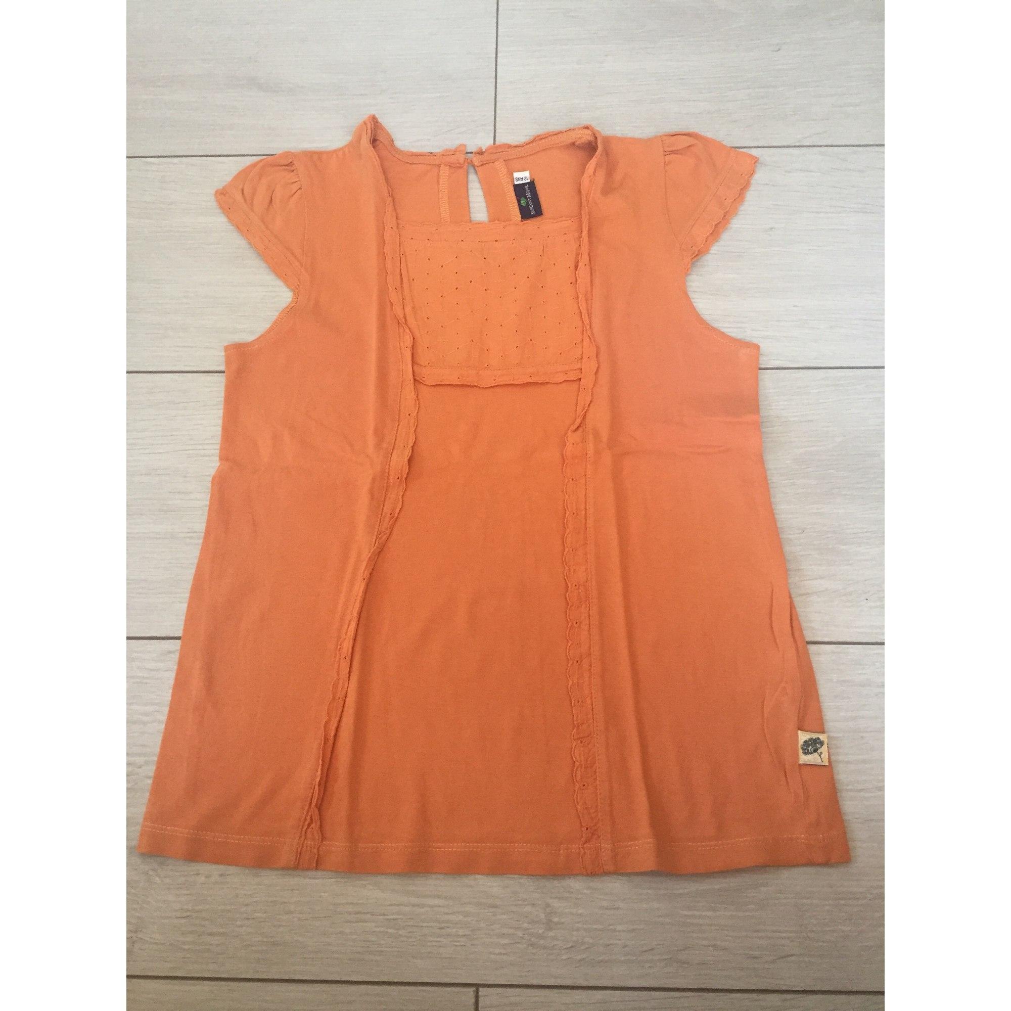 Top, Tee-shirt SERGENT MAJOR Orange