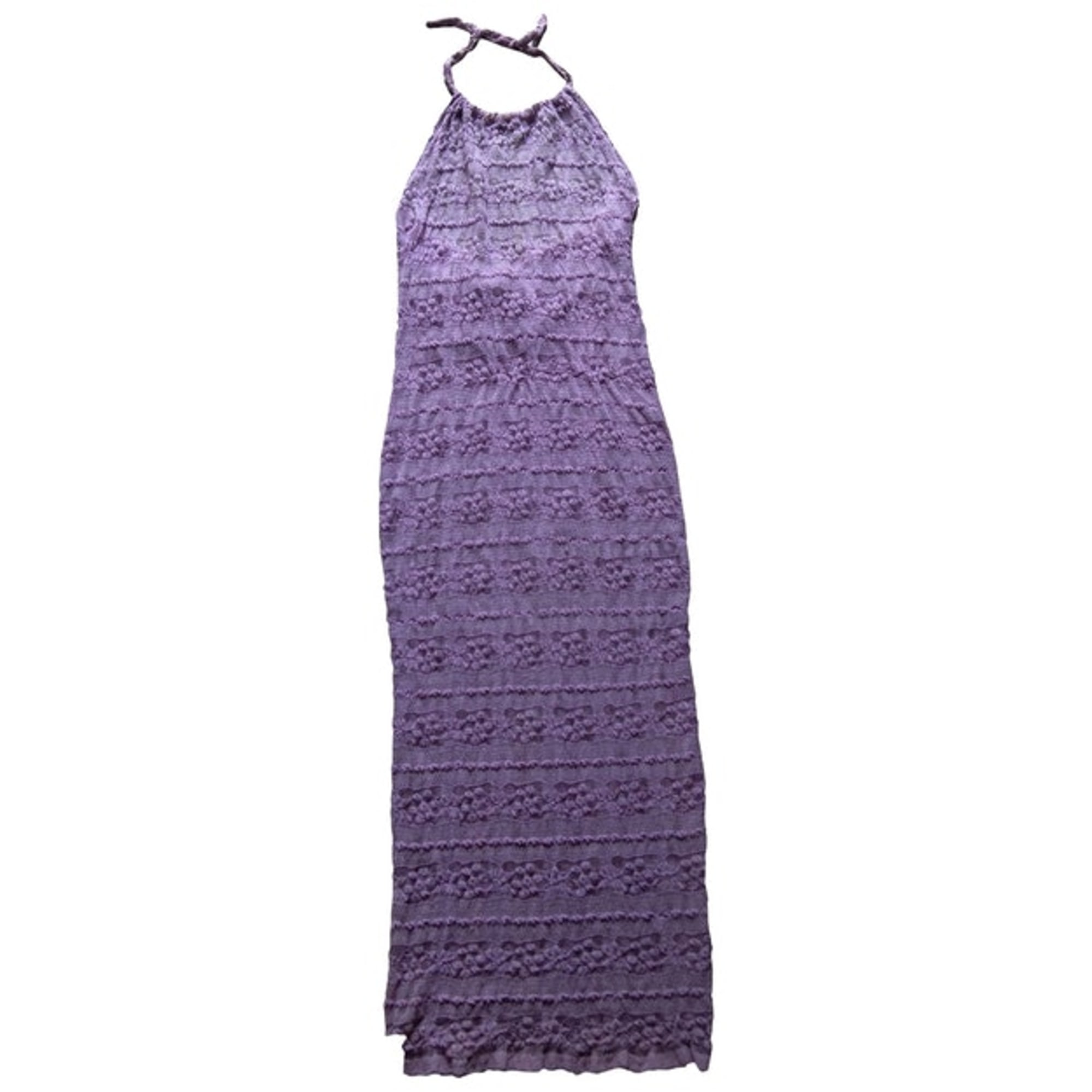 Robe longue MARQUE INCONNUE Violet, mauve, lavande