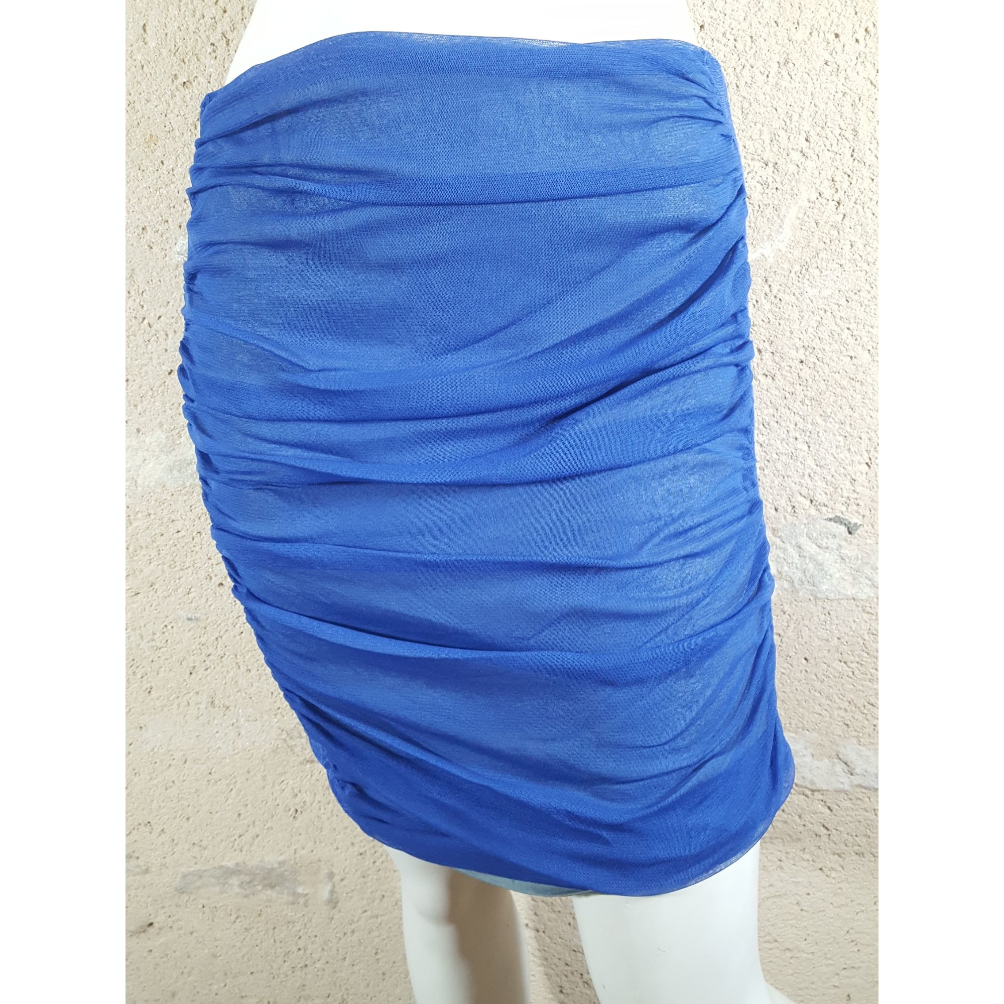 Jupe mi-longue KOOKAI Bleu, bleu marine, bleu turquoise