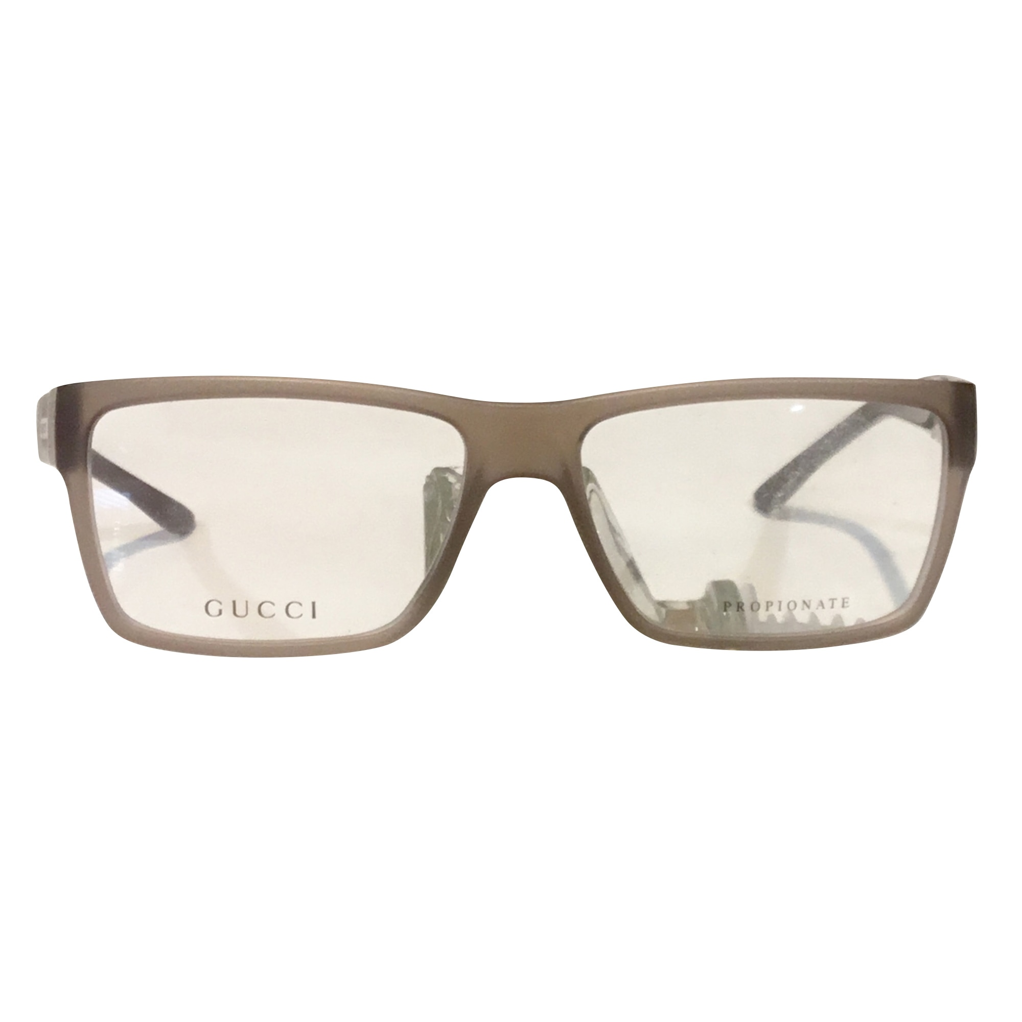 Monture de lunettes GUCCI Gris, anthracite